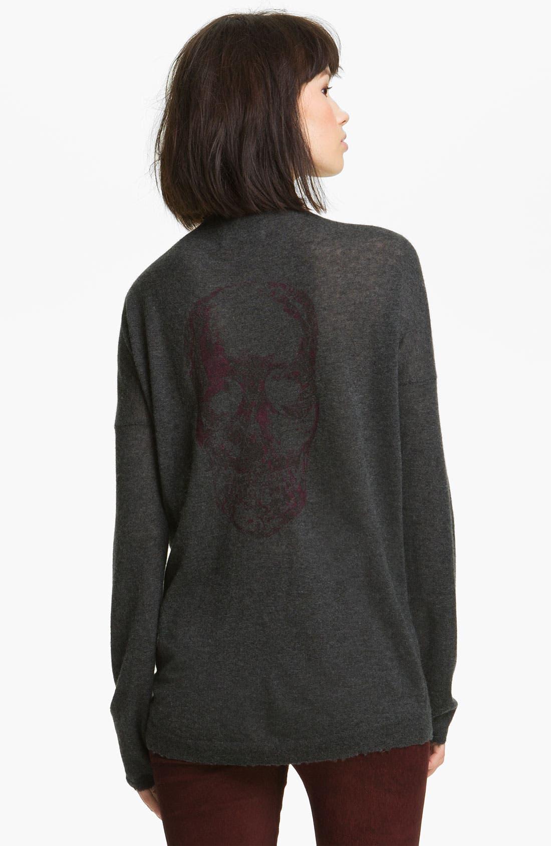 Alternate Image 2  - Zadig & Voltaire 'Celsa' Print Cashmere Sweater