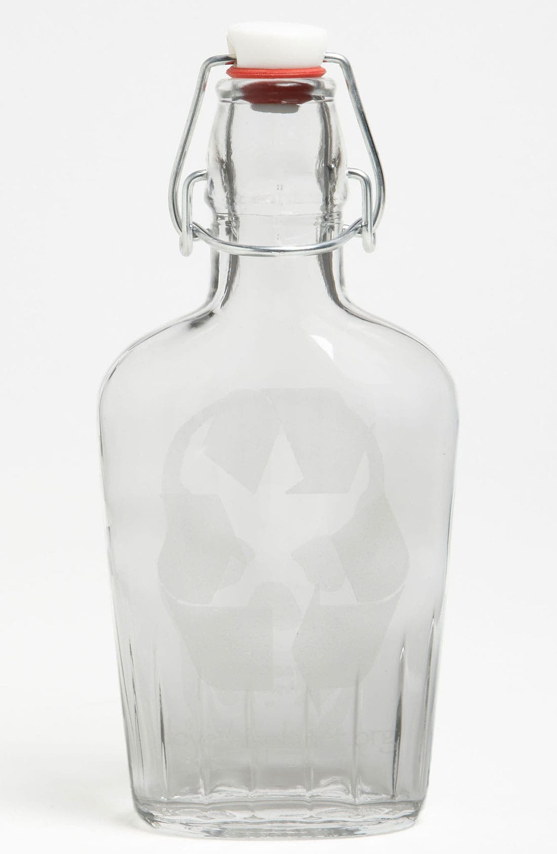 Main Image - Love This Planet 'Skull' Flask Water Bottle