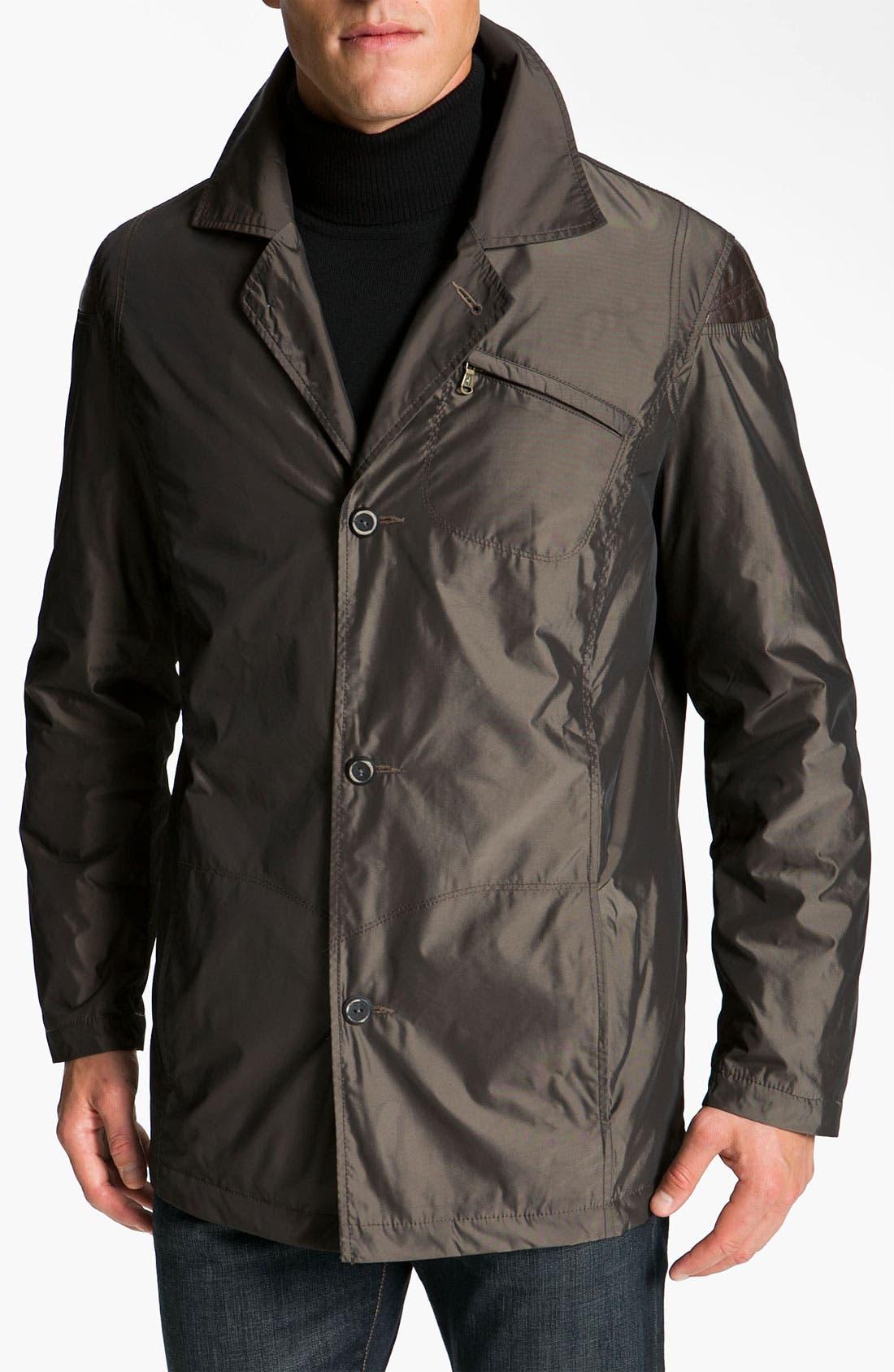 Alternate Image 1 Selected - Robert Comstock Water Resistant Raincoat