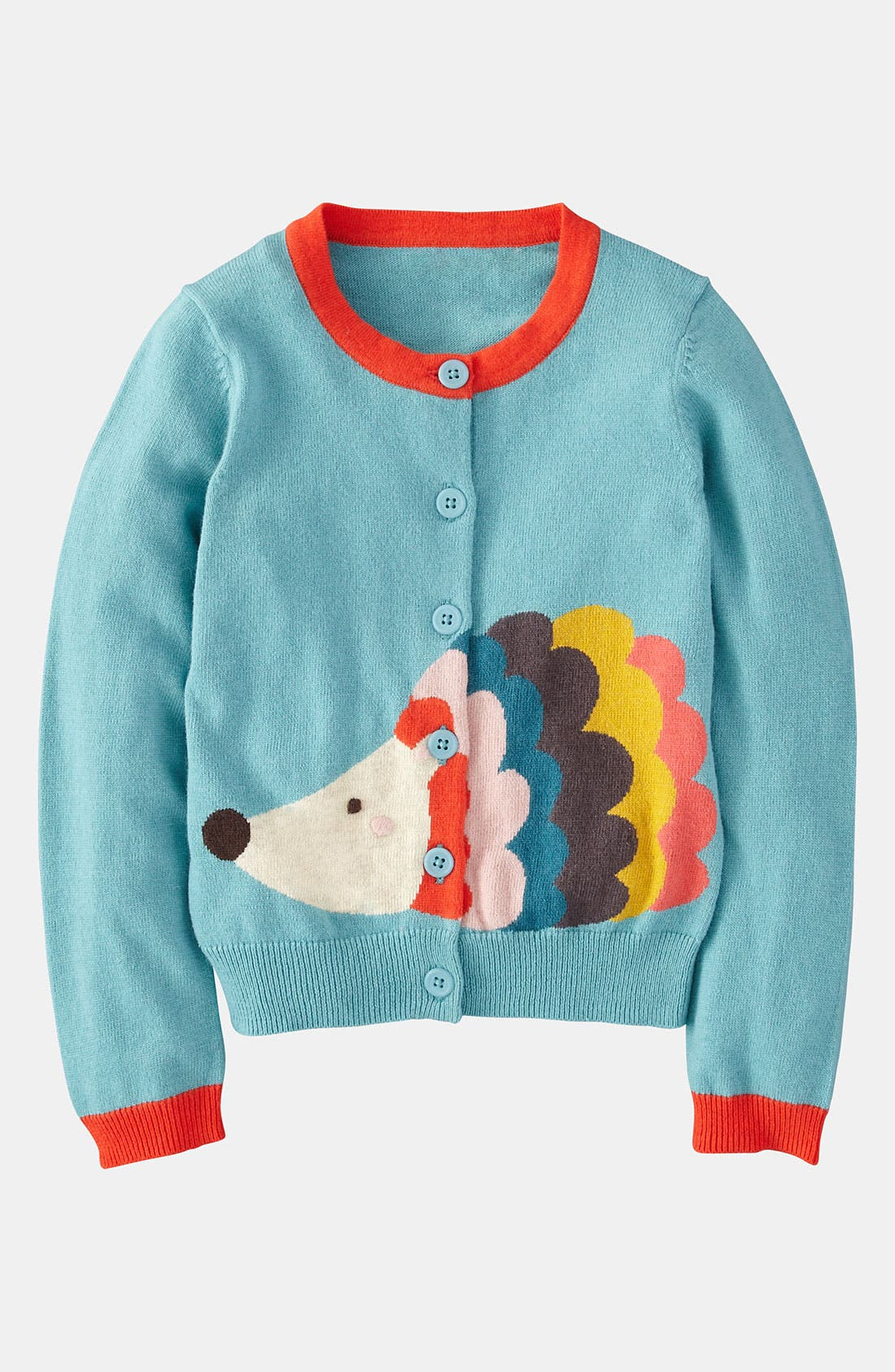 Alternate Image 1 Selected - Mini Boden 'Fun' Cardigan (Toddler)