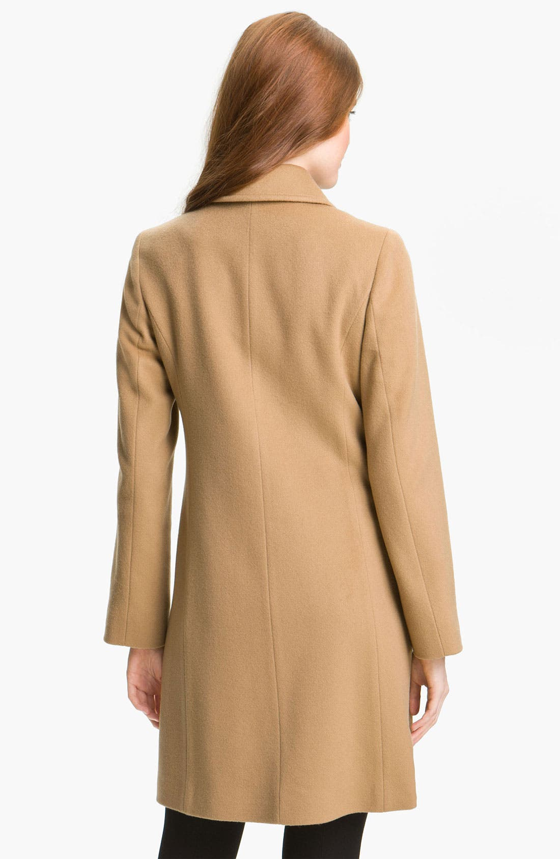 Alternate Image 2  - Fleurette Cashmere & Wool Car Coat