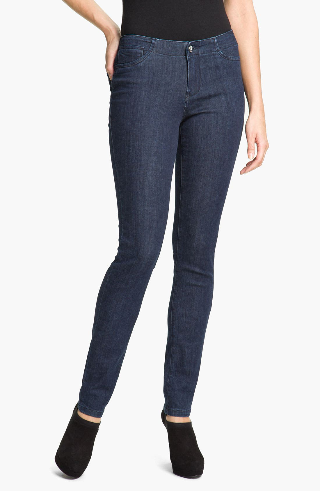 Alternate Image 1 Selected - Christopher Blue 'Angel' Skinny Stretch Jeans