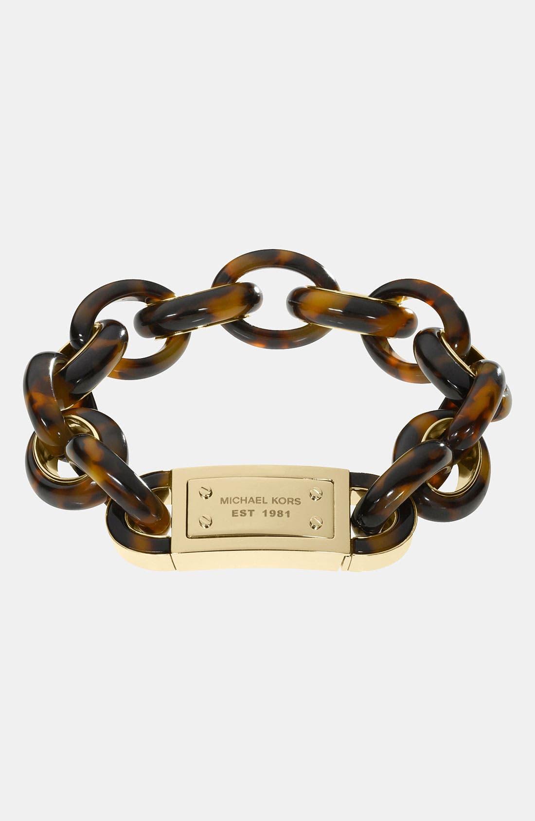 Alternate Image 1 Selected - Michael Kors 'Heritage' Bracelet