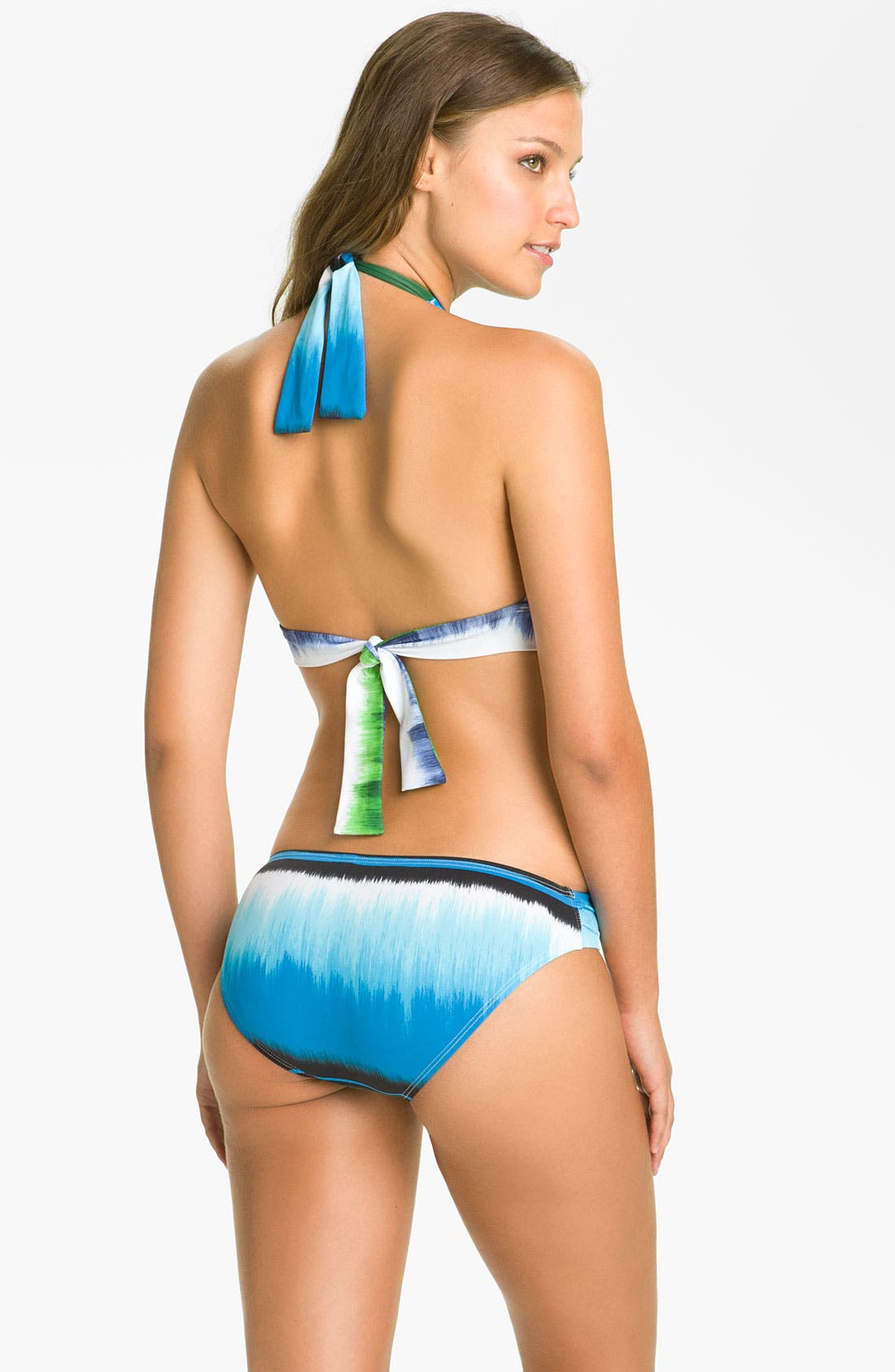 Alternate Image 5  - Tommy Bahama 'Hazy Ikat Stripe' Shirred Hipster Bikini Bottoms