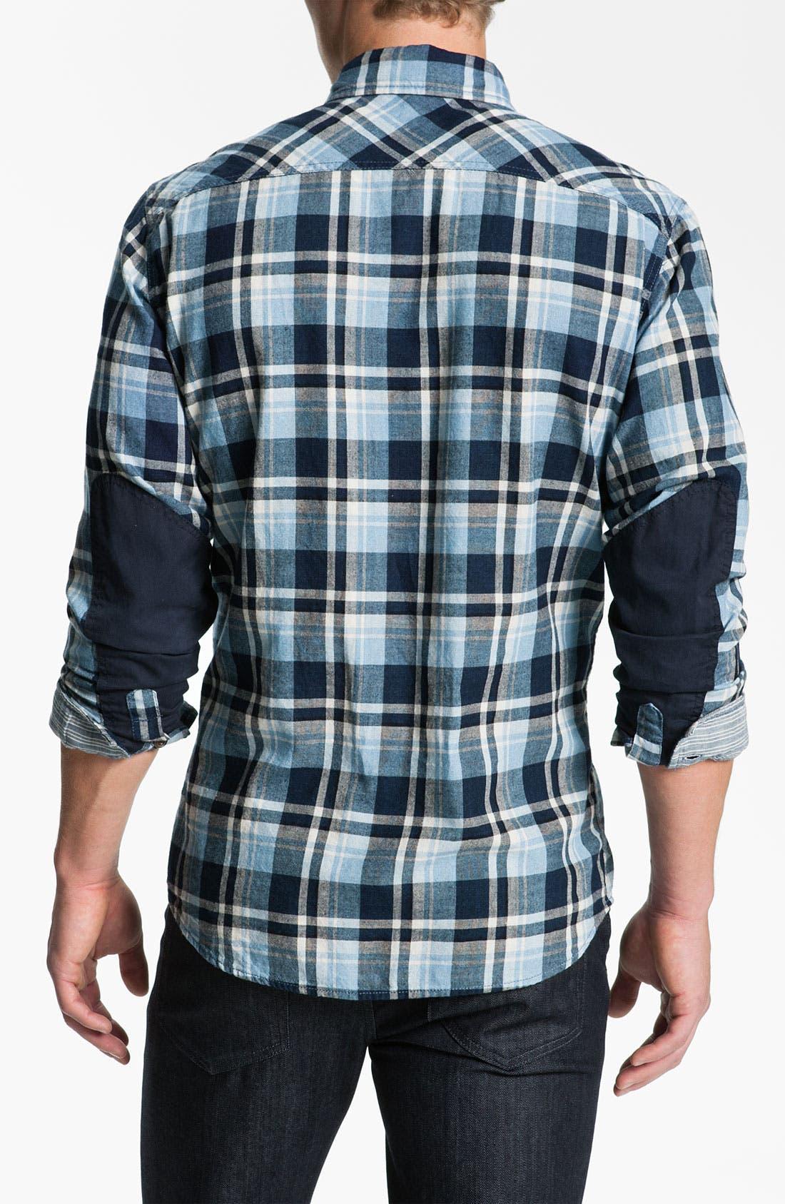 Alternate Image 2  - Just A Cheap Shirt Long Sleeve Woven Shirt