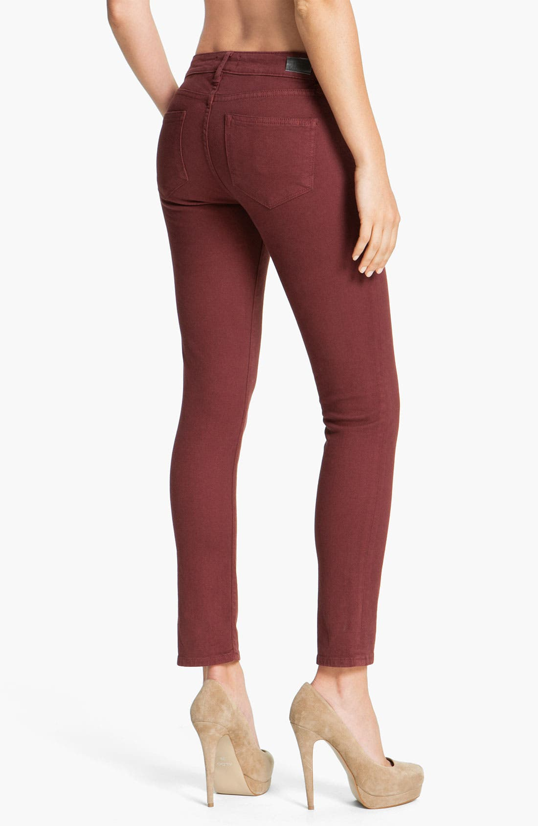 Alternate Image 2  - Paige Denim 'Skyline' Skinny Jeans (Cheer)