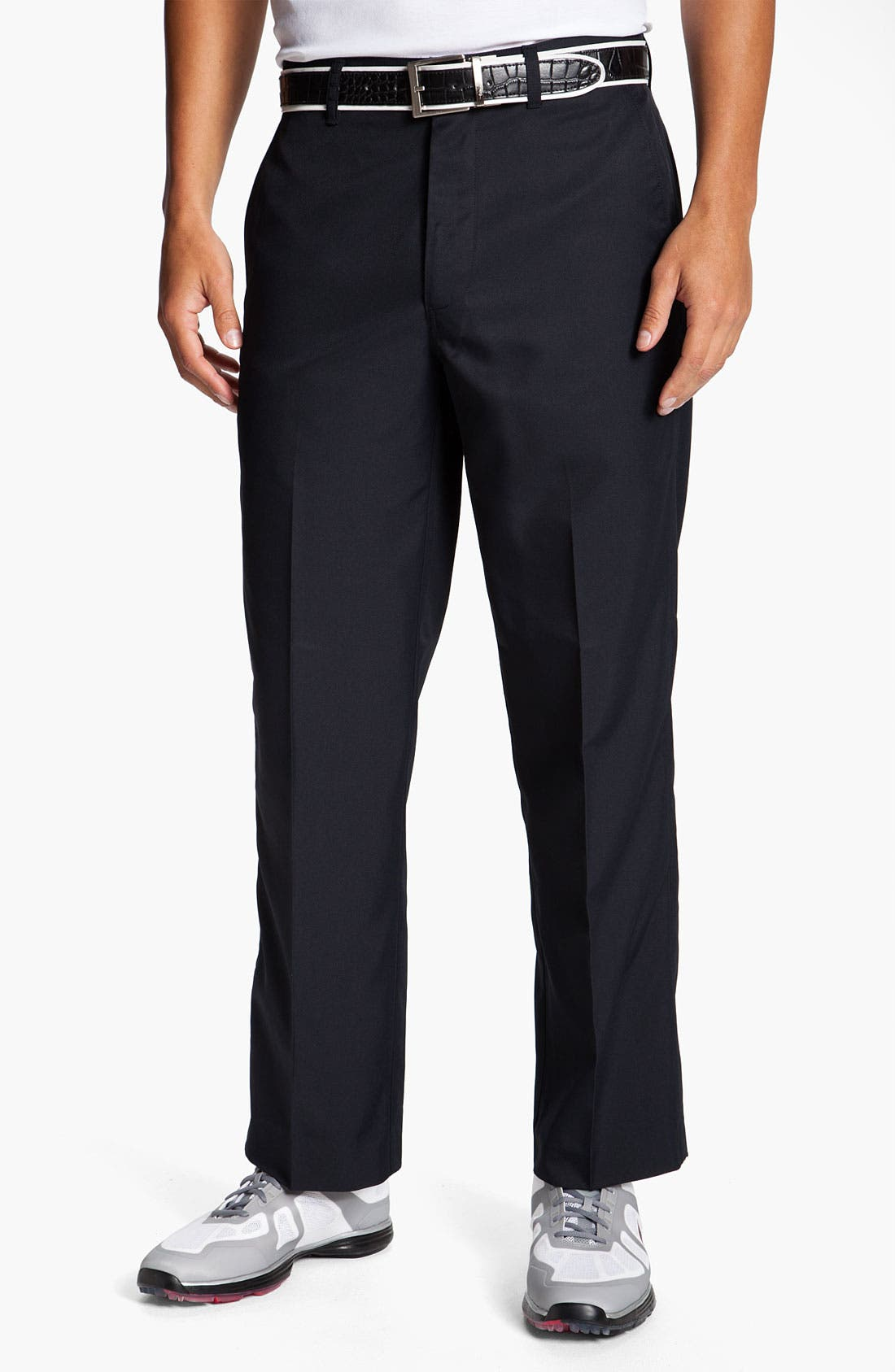 Alternate Image 1 Selected - Callaway Golf® 'Tech' Flat Front Pants