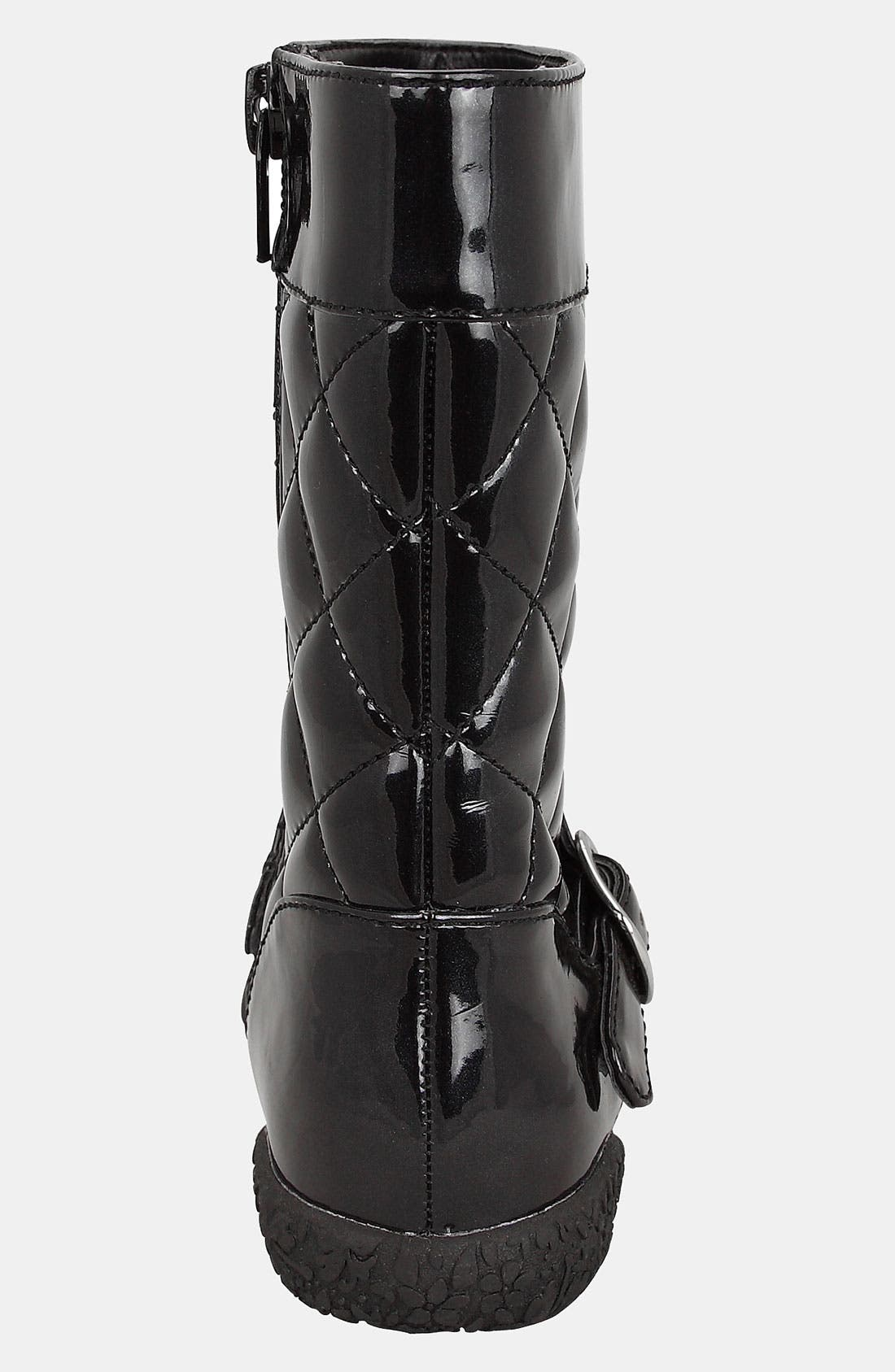 Alternate Image 2  - Nina 'Bonnie-T' Quilted Boot (Walker & Toddler)