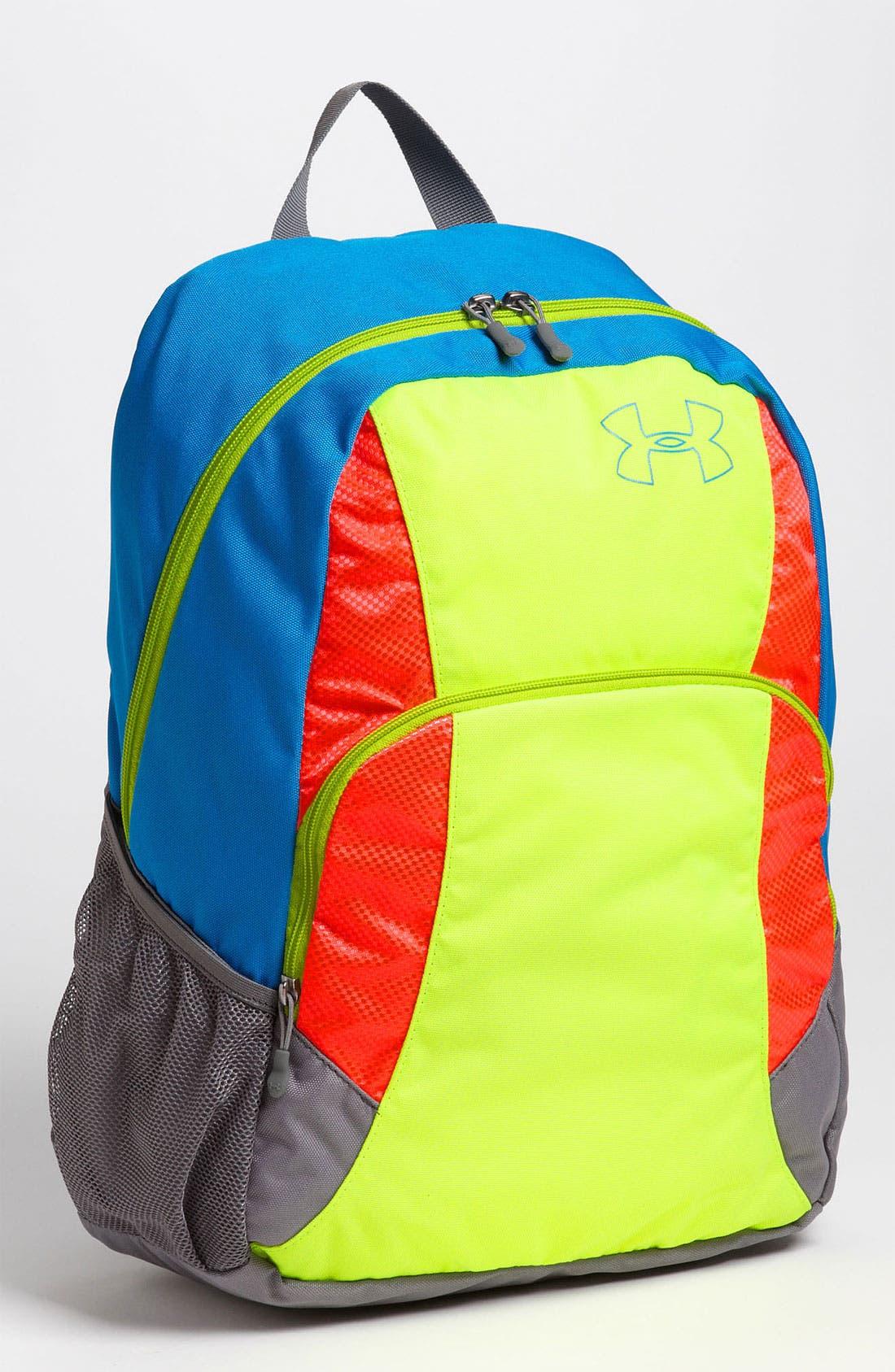 Alternate Image 1 Selected - Under Armour 'Rambler' Backpack (Kids)