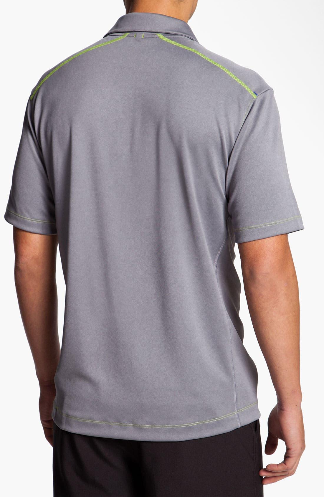 Alternate Image 2  - Nike Golf 'Herringbone Jacquard' Dri-FIT Polo