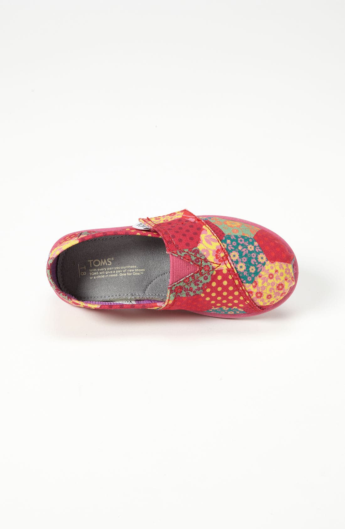 Alternate Image 3  - TOMS 'Classic Tiny - Patchwork' Slip-On (Baby, Walker & Toddler)