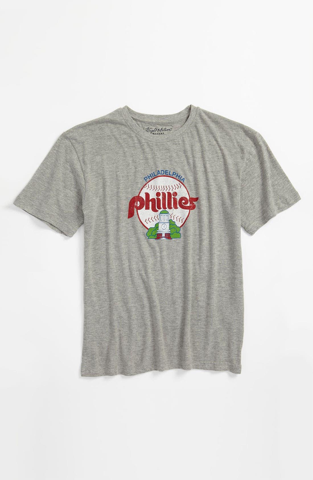 Alternate Image 1 Selected - Wright & Ditson 'Philadelphia Phillies' T-Shirt (Little Boys & Big Boys)
