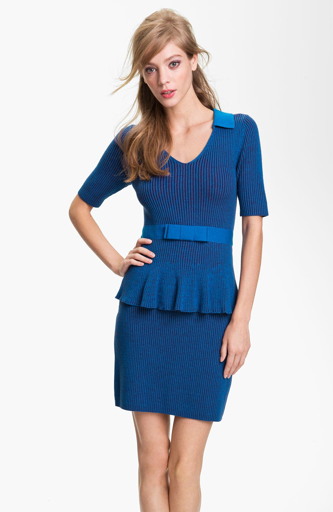 Alternate Image 1 Selected - Nanette Lepore 'The Empress' Merino Wool Sheath Dress (Online Exclusive)