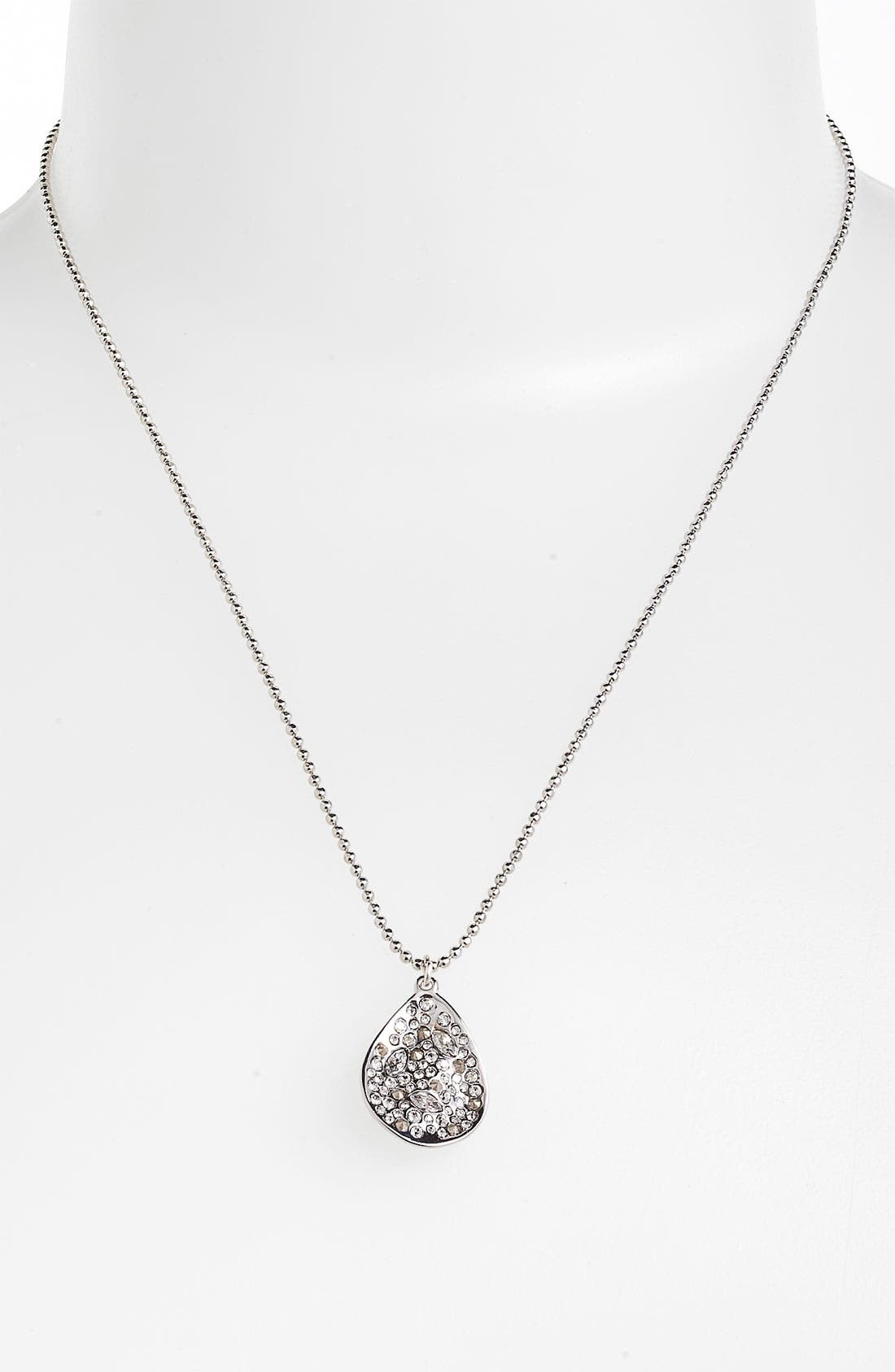 Alternate Image 1 Selected - Alexis Bittar 'Miss Havisham' Small Teardrop Pendant Necklace