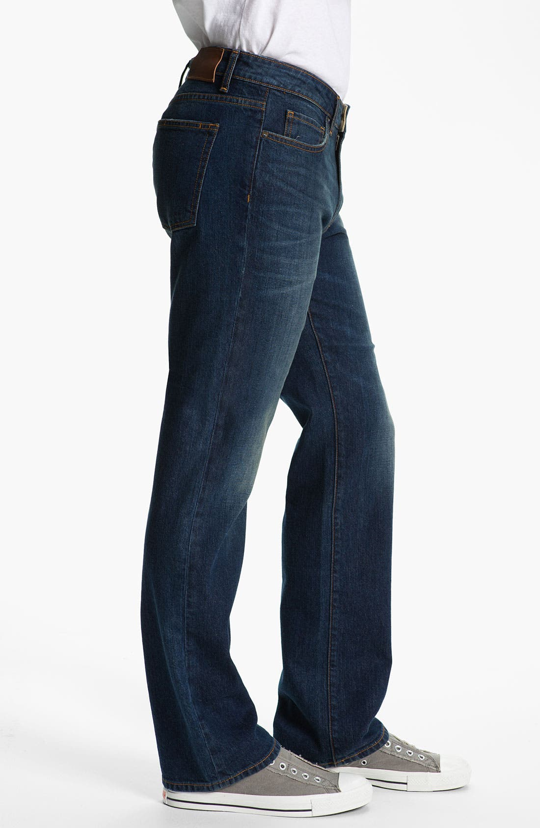 Alternate Image 3  - PAIGE 'Doheny' Straight Leg Jeans (K2)