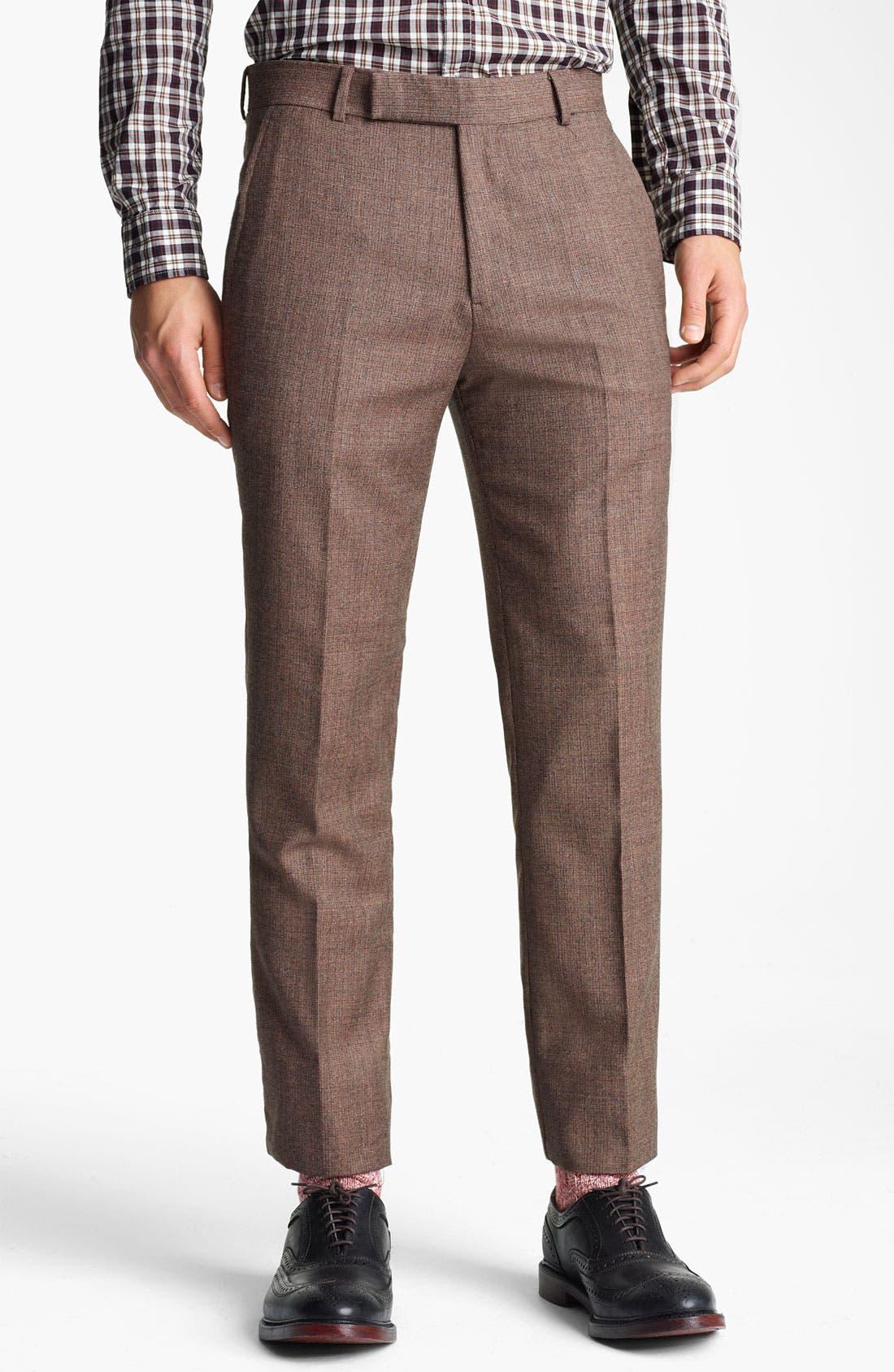 Alternate Image 4  - Billy Reid 'Campbell - Heirloom Collection' Tweed Suit