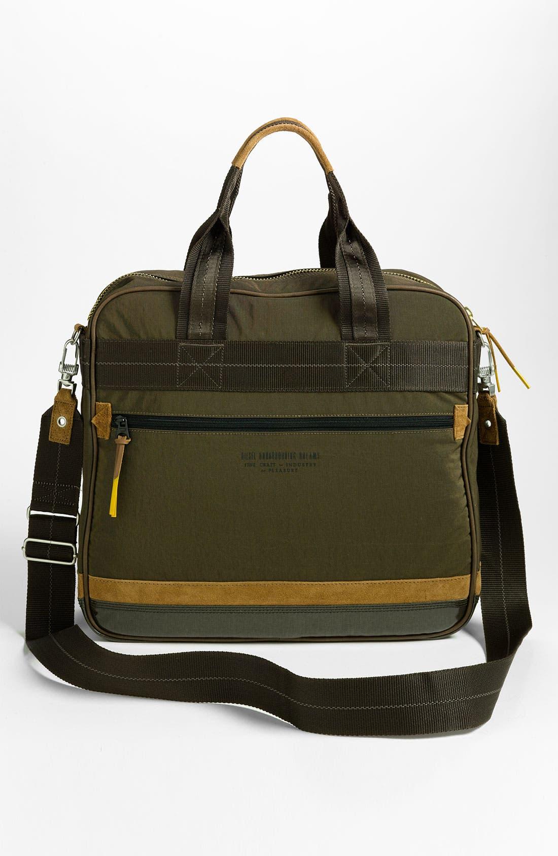 Alternate Image 4  - DIESEL® 'T-Ten' Zip Briefcase