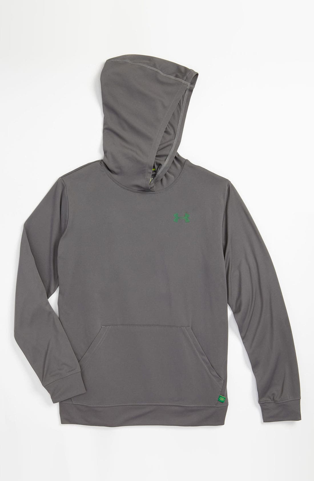 Alternate Image 1 Selected - Under Armour 'Defend Your Turf' Hoodie (Big Boys)