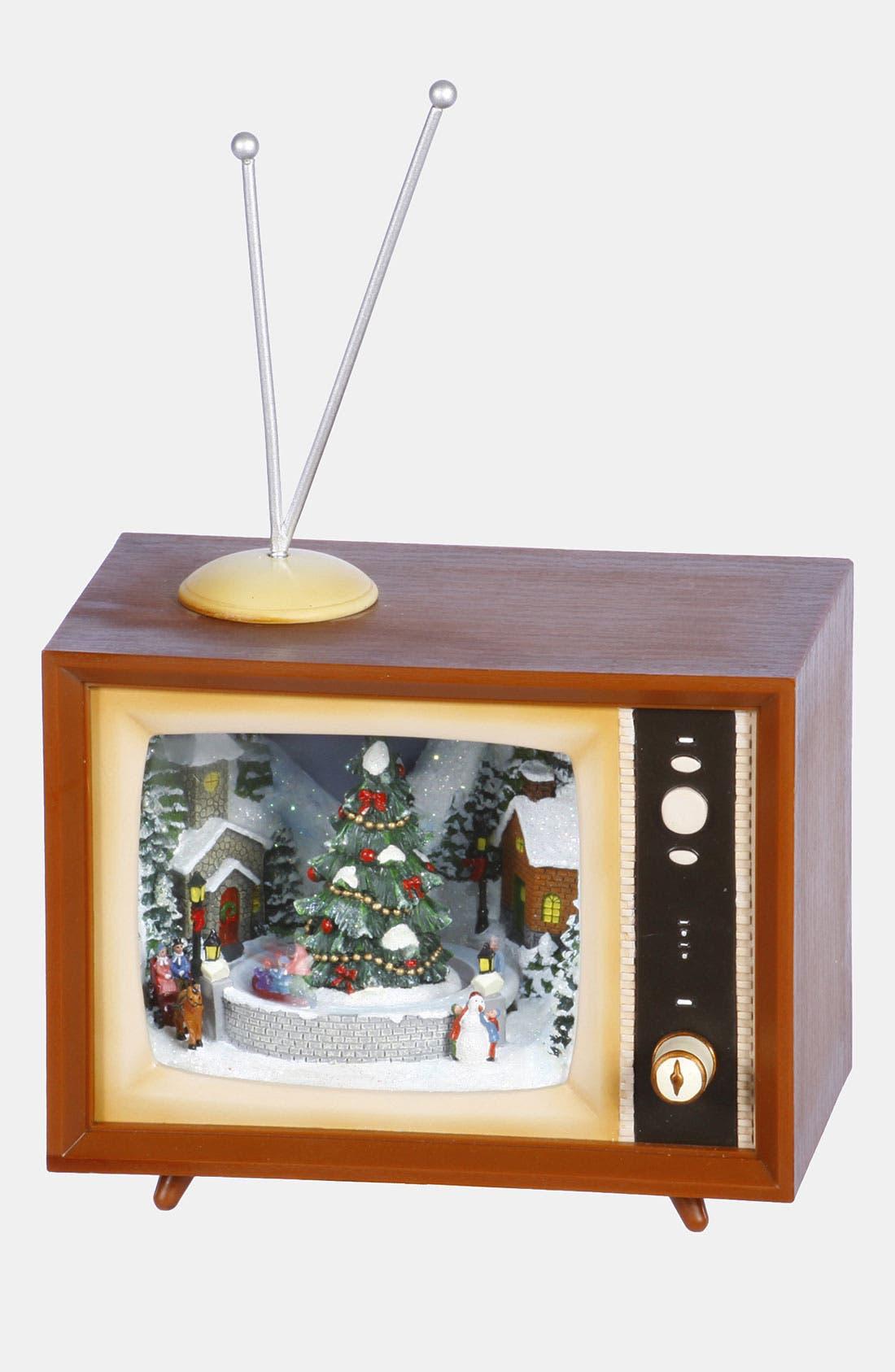 Main Image - Winward 'Mini TV - Square' Music Box