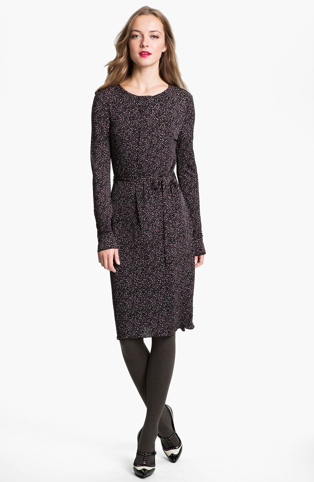 Main Image - Tory Burch 'Tammy' Belted A-Line Dress (Online Exclusive)