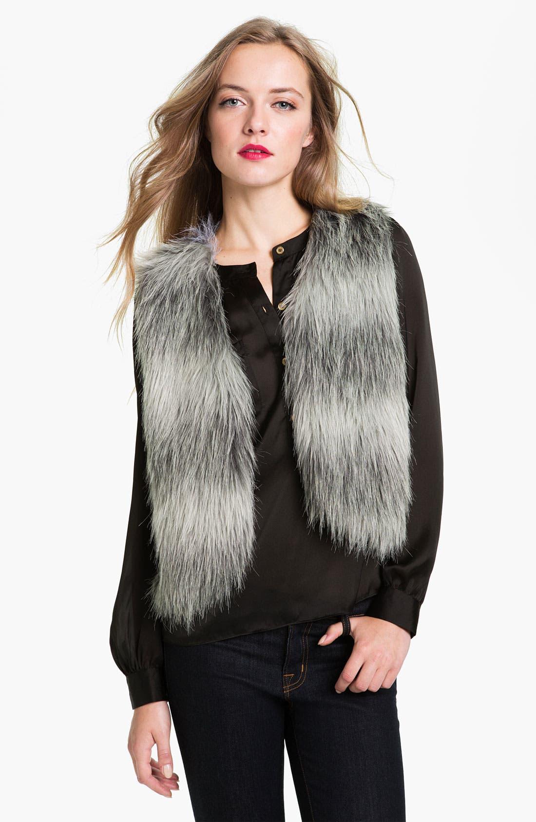 Alternate Image 1 Selected - Collection XIIX 'Cassandra' Faux Fur Vest