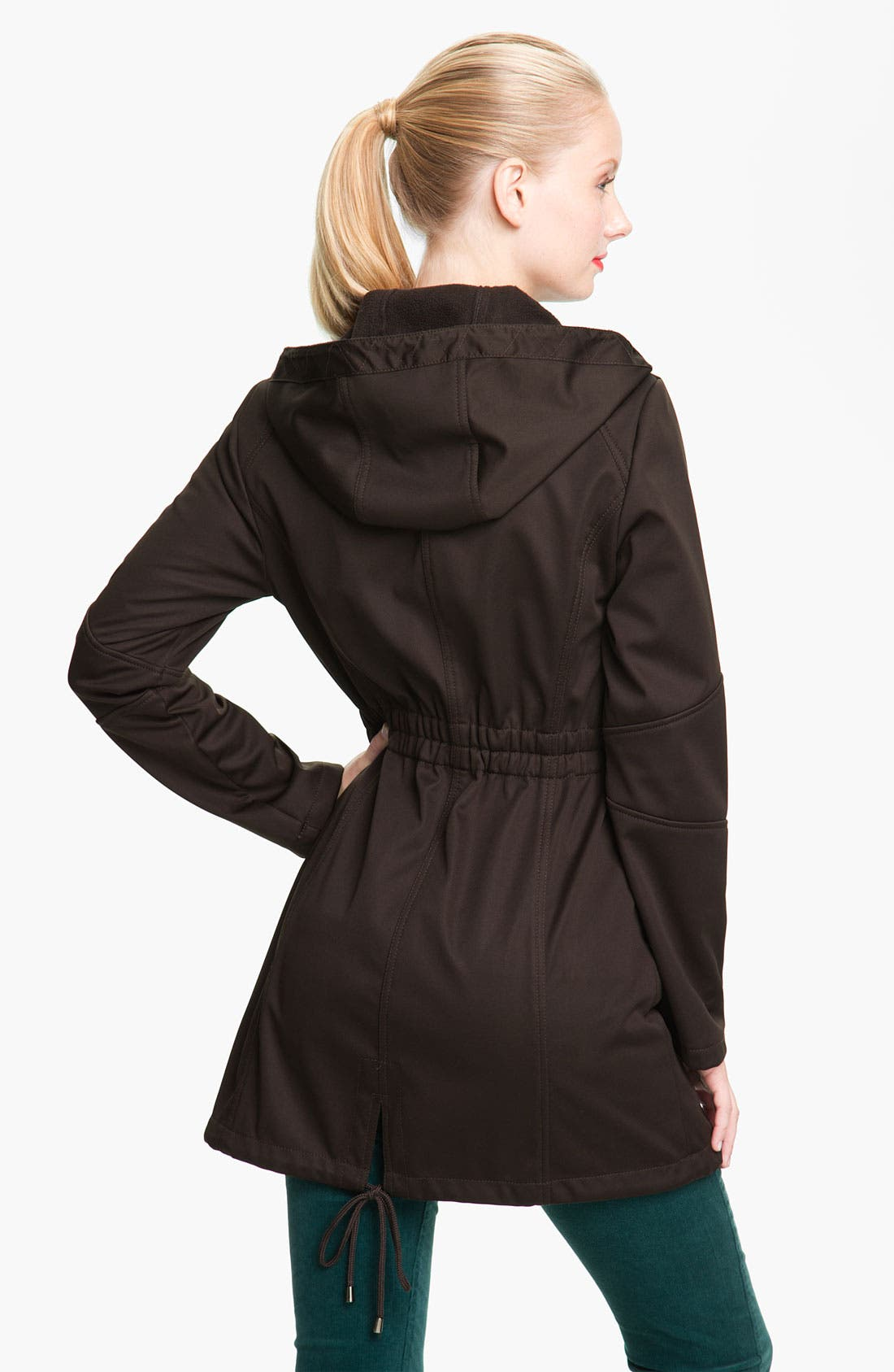 Alternate Image 2  - Laundry by Shelli Segal Softshell Anorak (Nordstrom Exclusive)