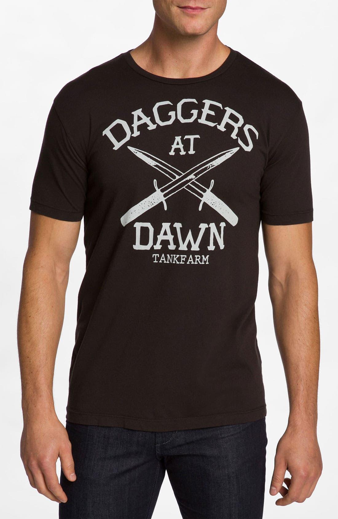 Alternate Image 1 Selected - Tankfarm 'Daggers at Dawn' T-Shirt