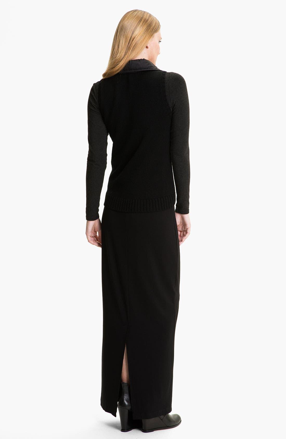 Alternate Image 5  - Eileen Fisher Parka Trim Wool Vest