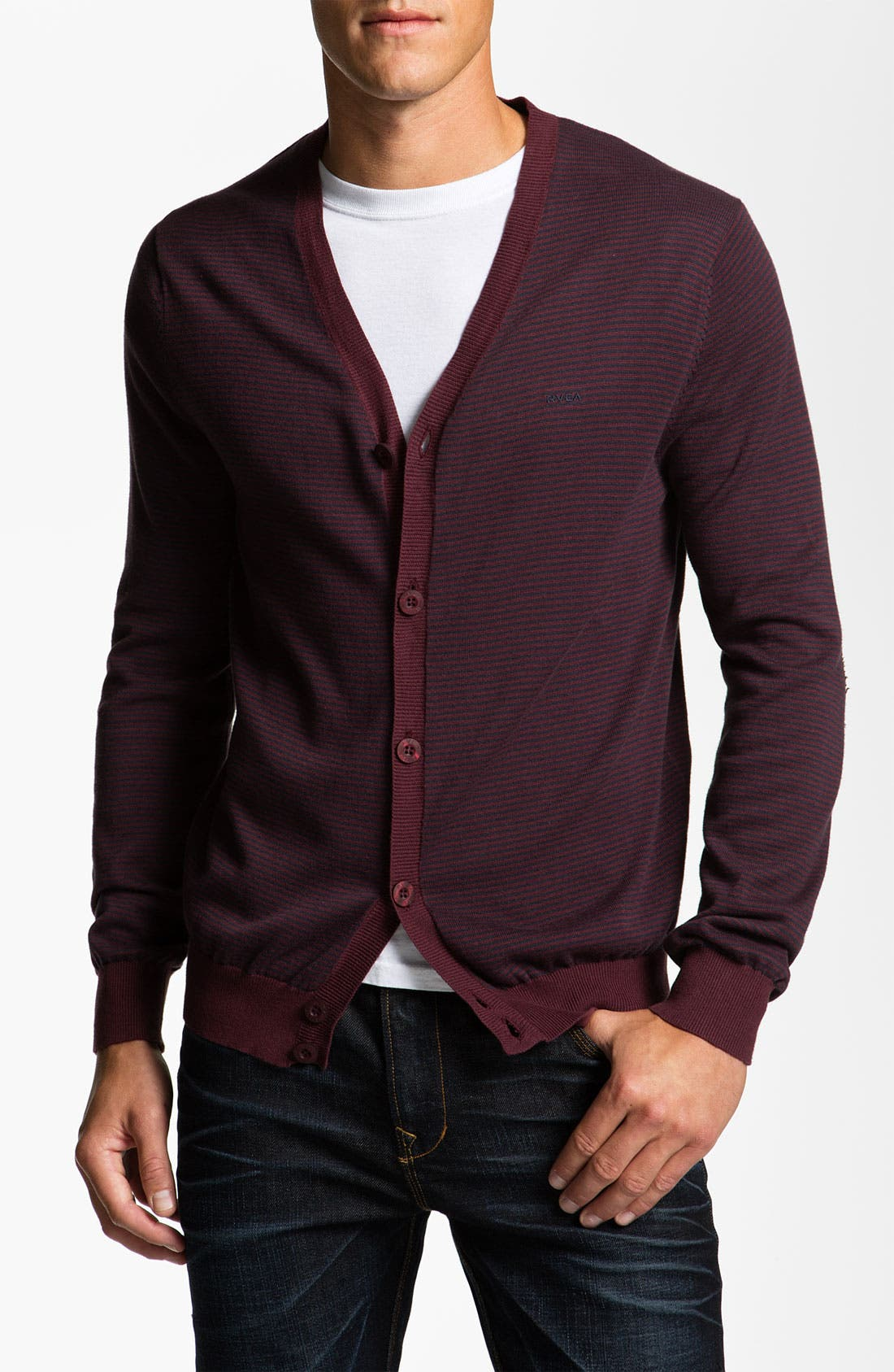 Alternate Image 1 Selected - RVCA 'Barge' Cardigan