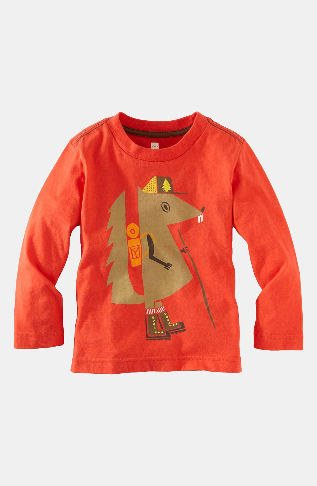 Main Image - Tea Collection 'Wanderer' T-Shirt (Toddler)