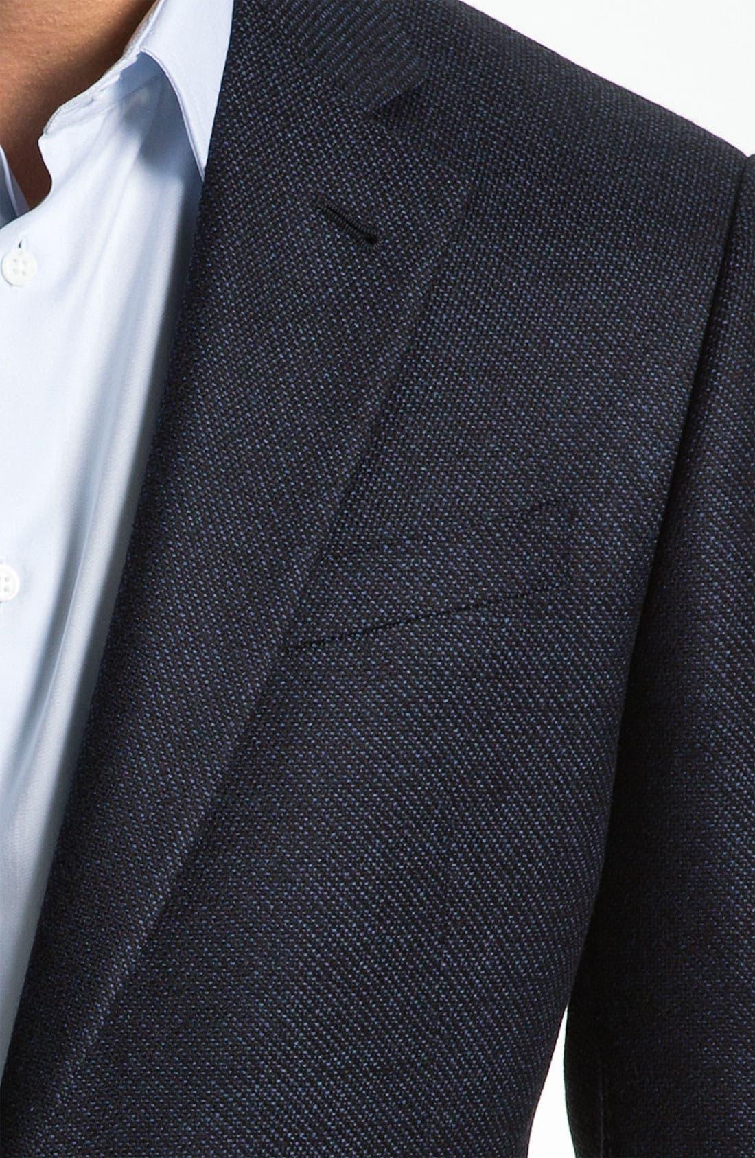 Alternate Image 3  - Armani Collezioni 'Giorgio' Trim Fit Sportcoat