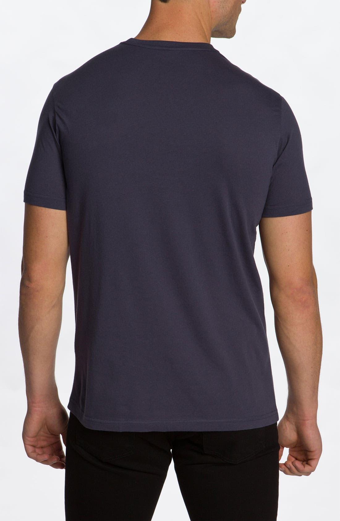 Alternate Image 2  - RVCA 'Upside Down Underwater' T-Shirt