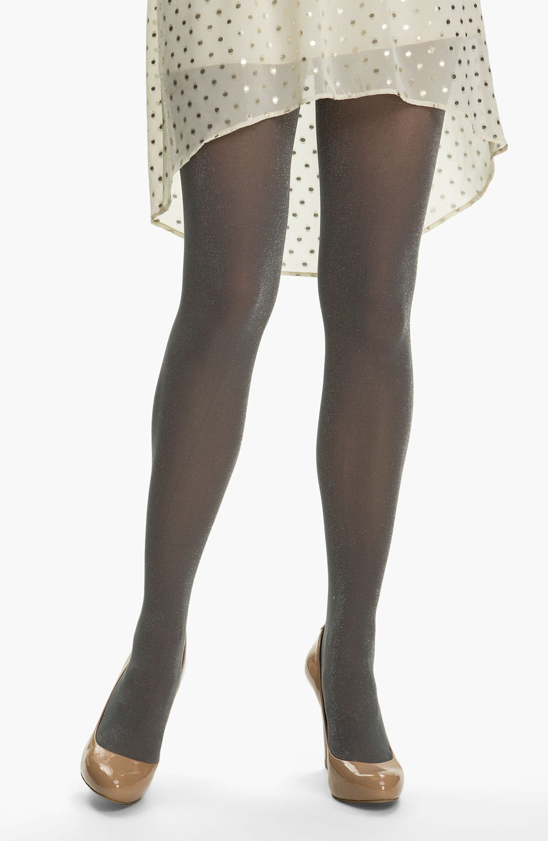 Alternate Image 1 Selected - DKNY 'Shimmer' Tights
