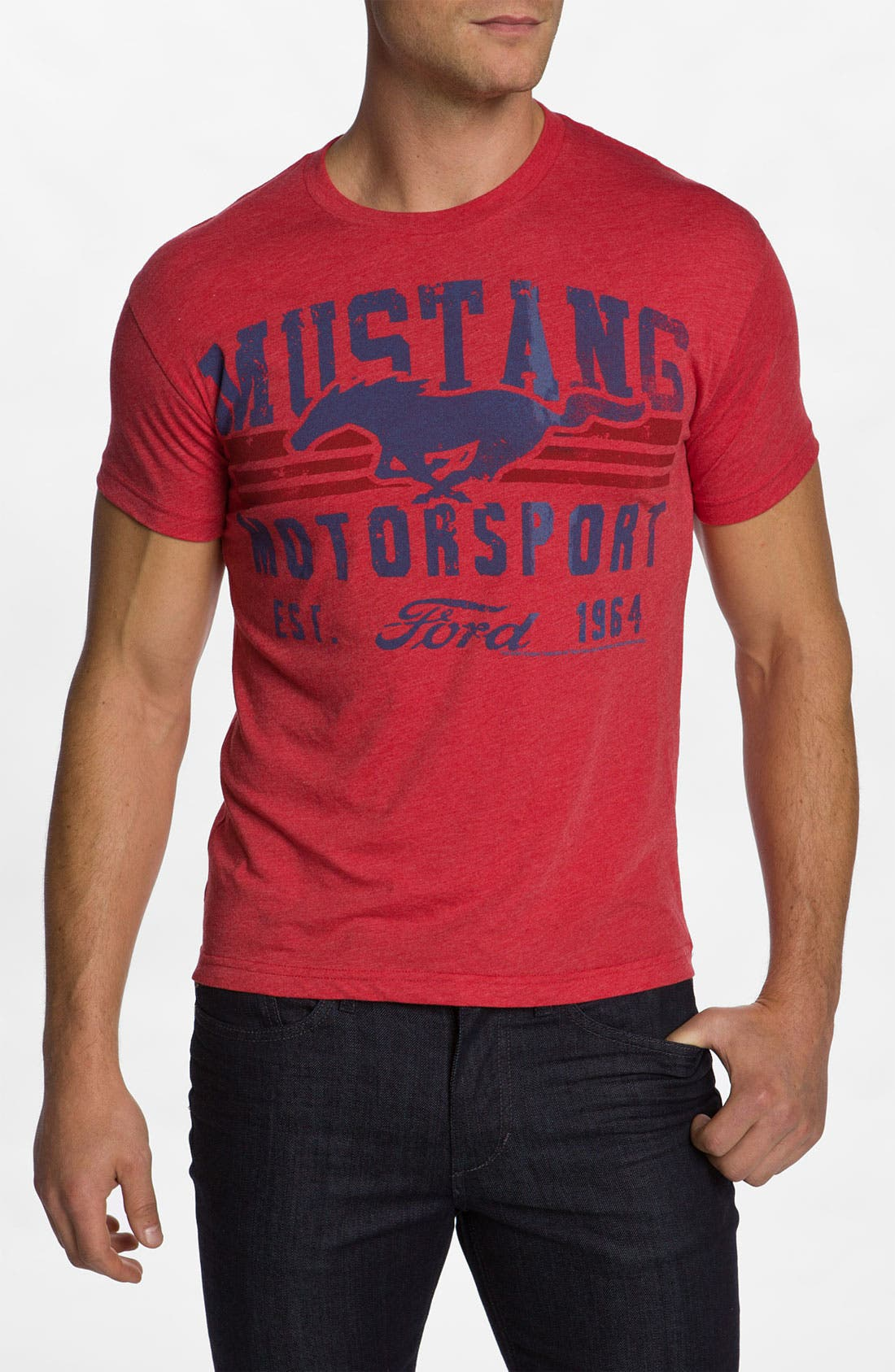 Alternate Image 1 Selected - Free Authority 'Mustang Motor' Graphic T-Shirt