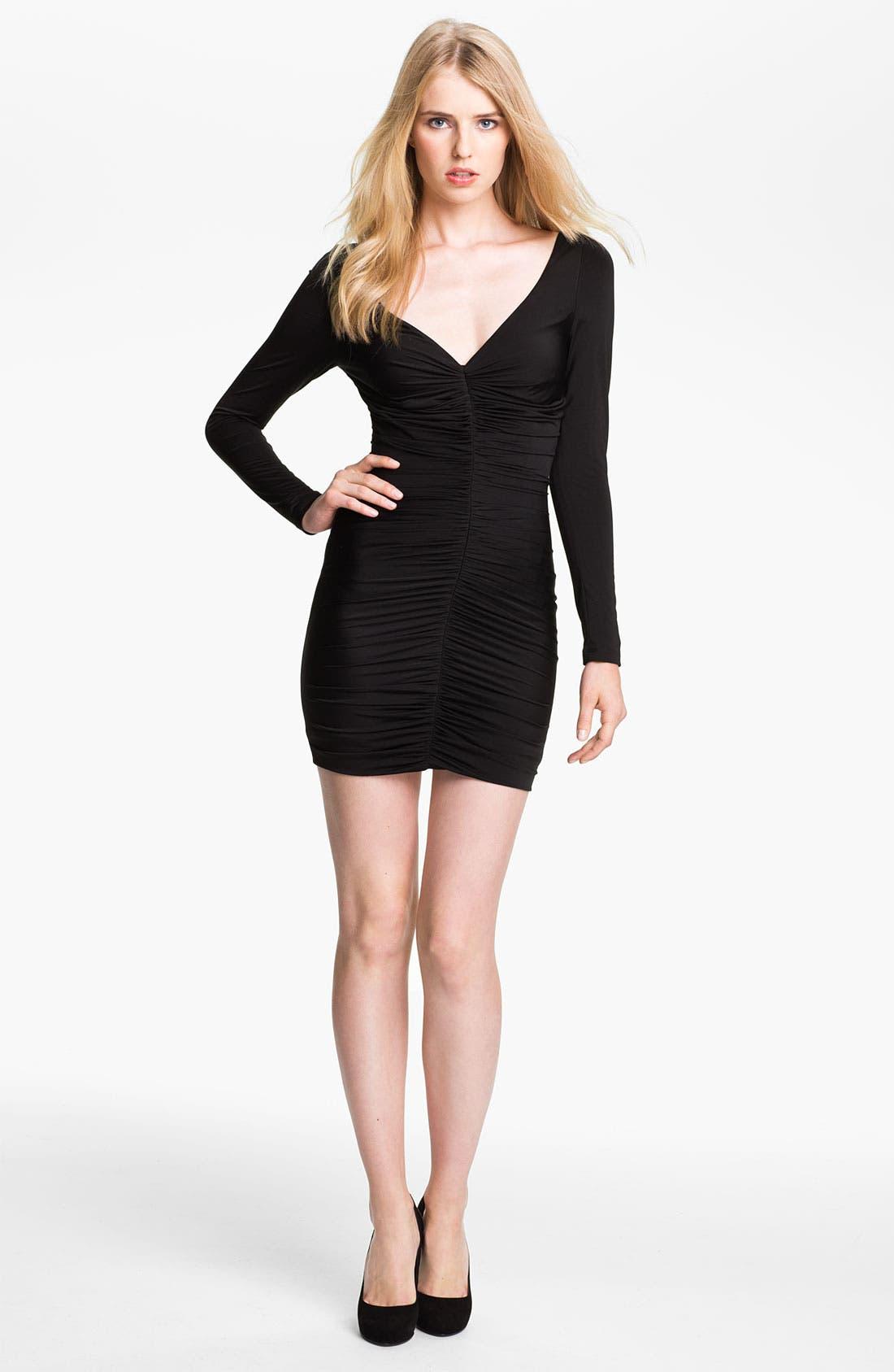 Alternate Image 1 Selected - Jay Godfrey 'Yasuda' Ruched Jersey Dress