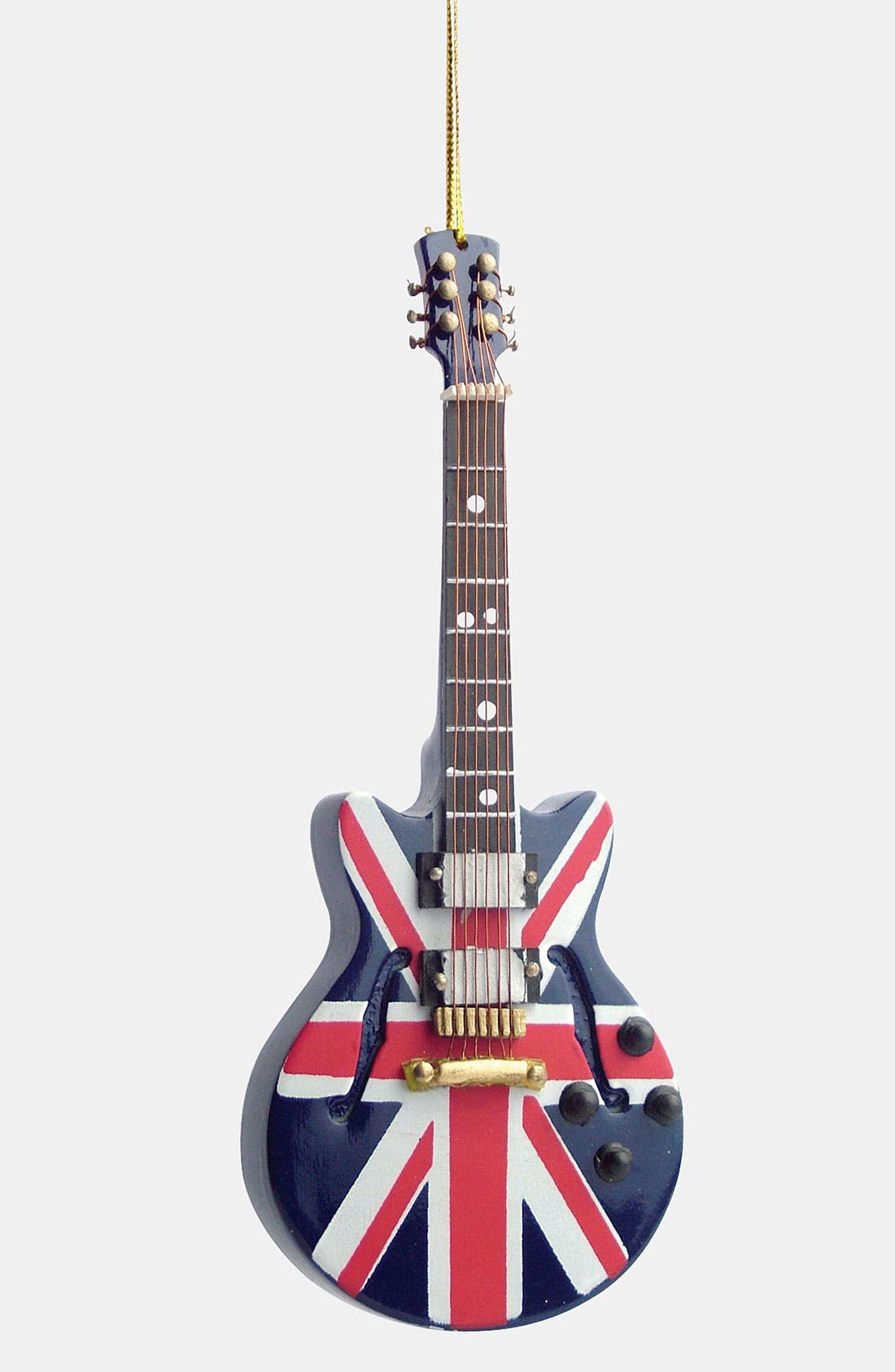 Alternate Image 1 Selected - Broadway Gifts 'Union Jack' Electric Guitar Ornament