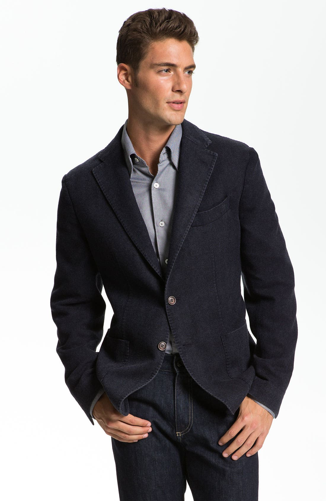 Alternate Image 1 Selected - Canali Wool & Cashmere Sportcoat