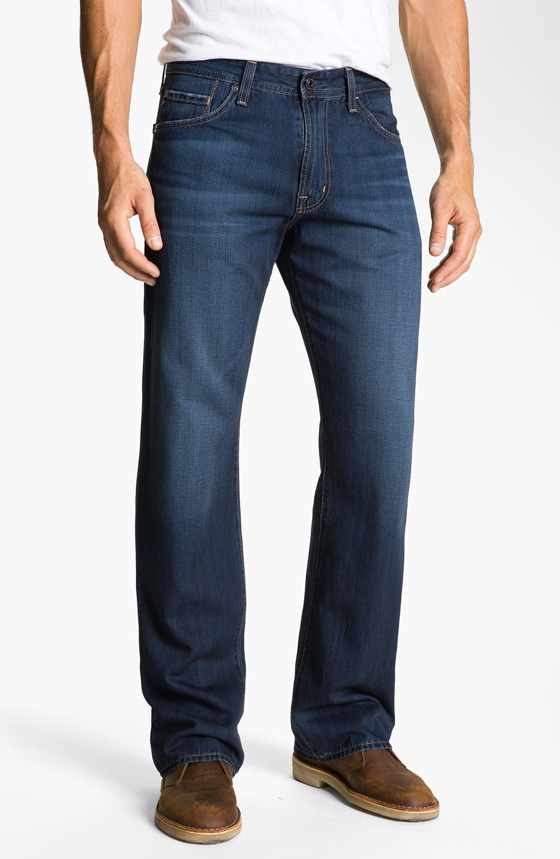 Alternate Image 1 Selected - AG 'Hero' Relaxed Fit Jeans (Barrow)
