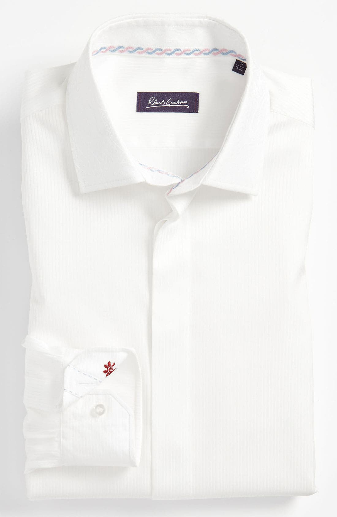 Main Image - Robert Graham Trim Fit Dress Shirt