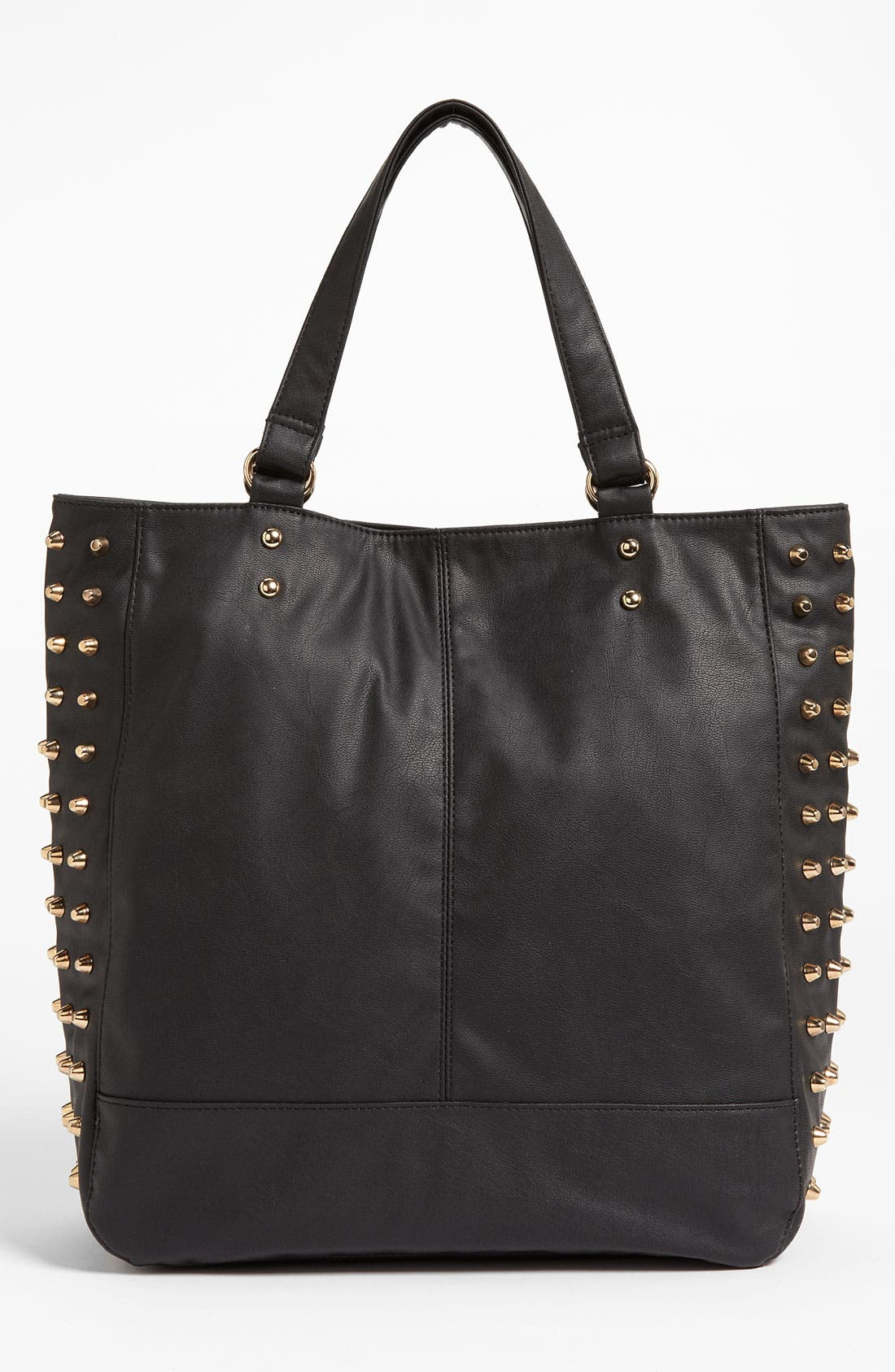 Alternate Image 4  - Cesca Studded Faux Leather Tote