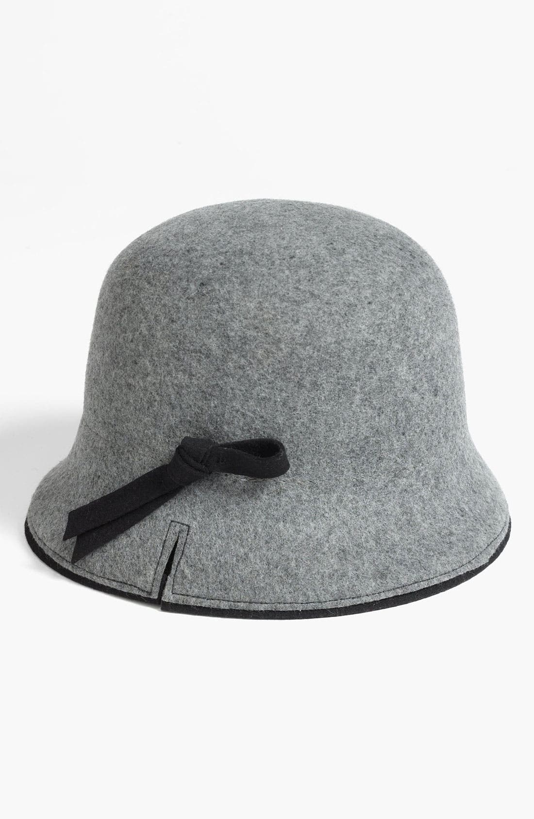 Main Image - Nordstrom Wool Cloche