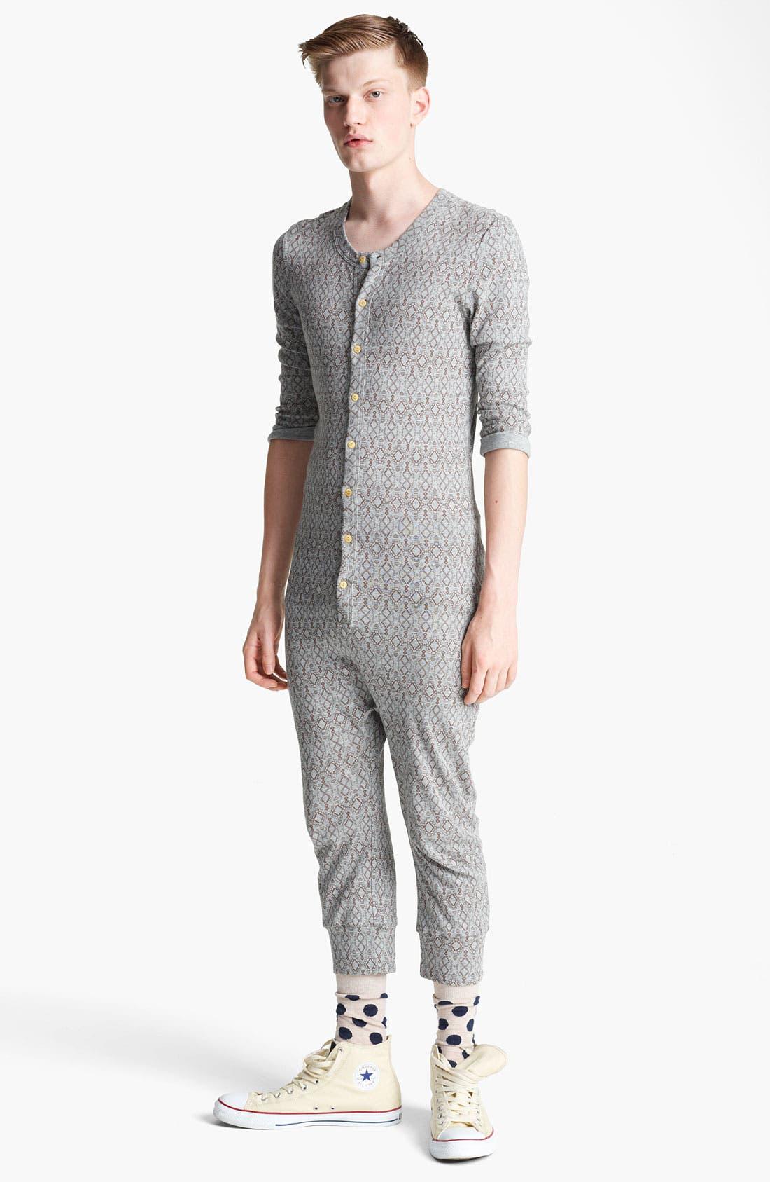 Alternate Image 1 Selected - Topman Aztec Print Pajamas