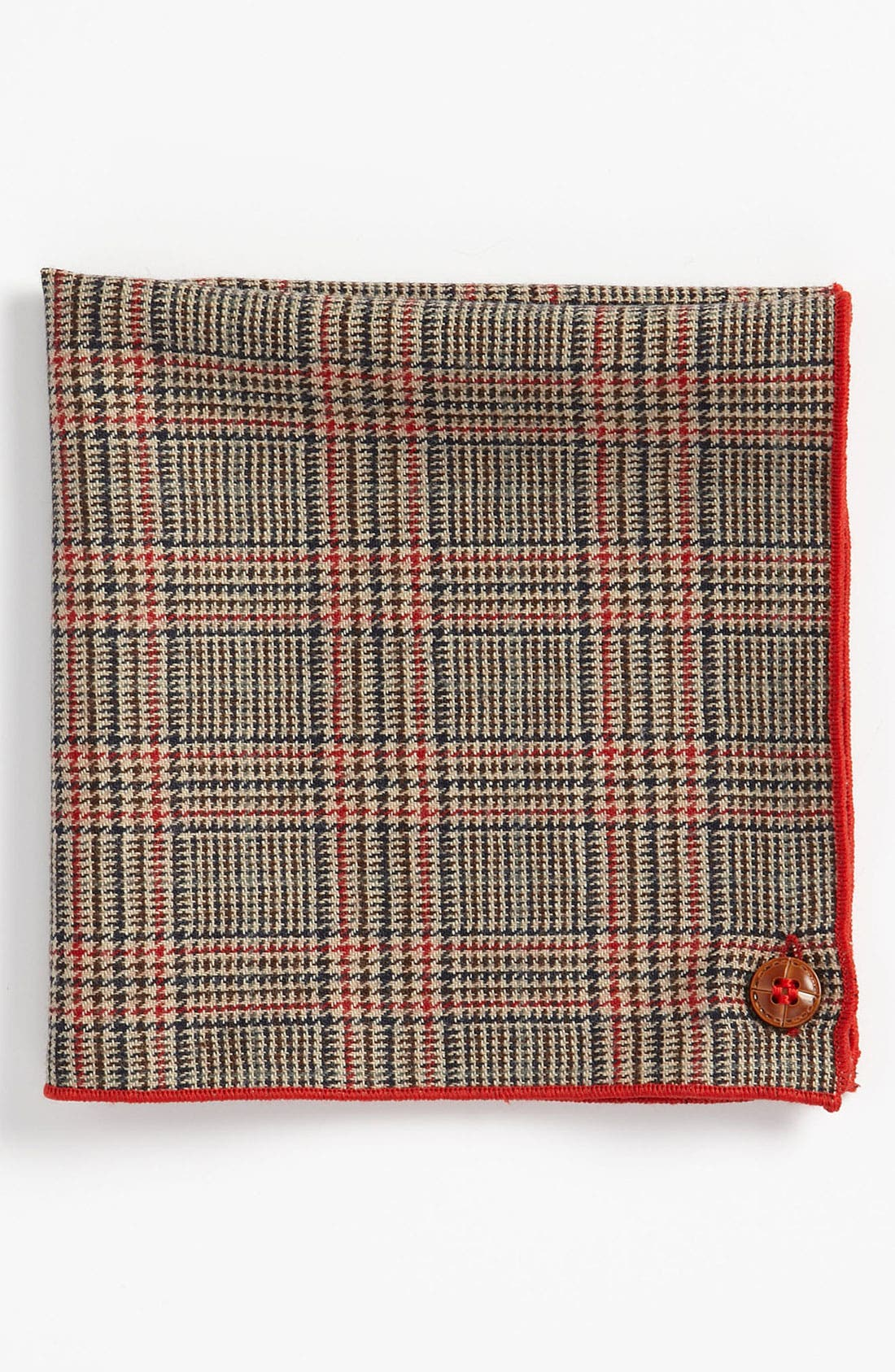 Main Image - Armstrong & Wilson Wool Pocket Square