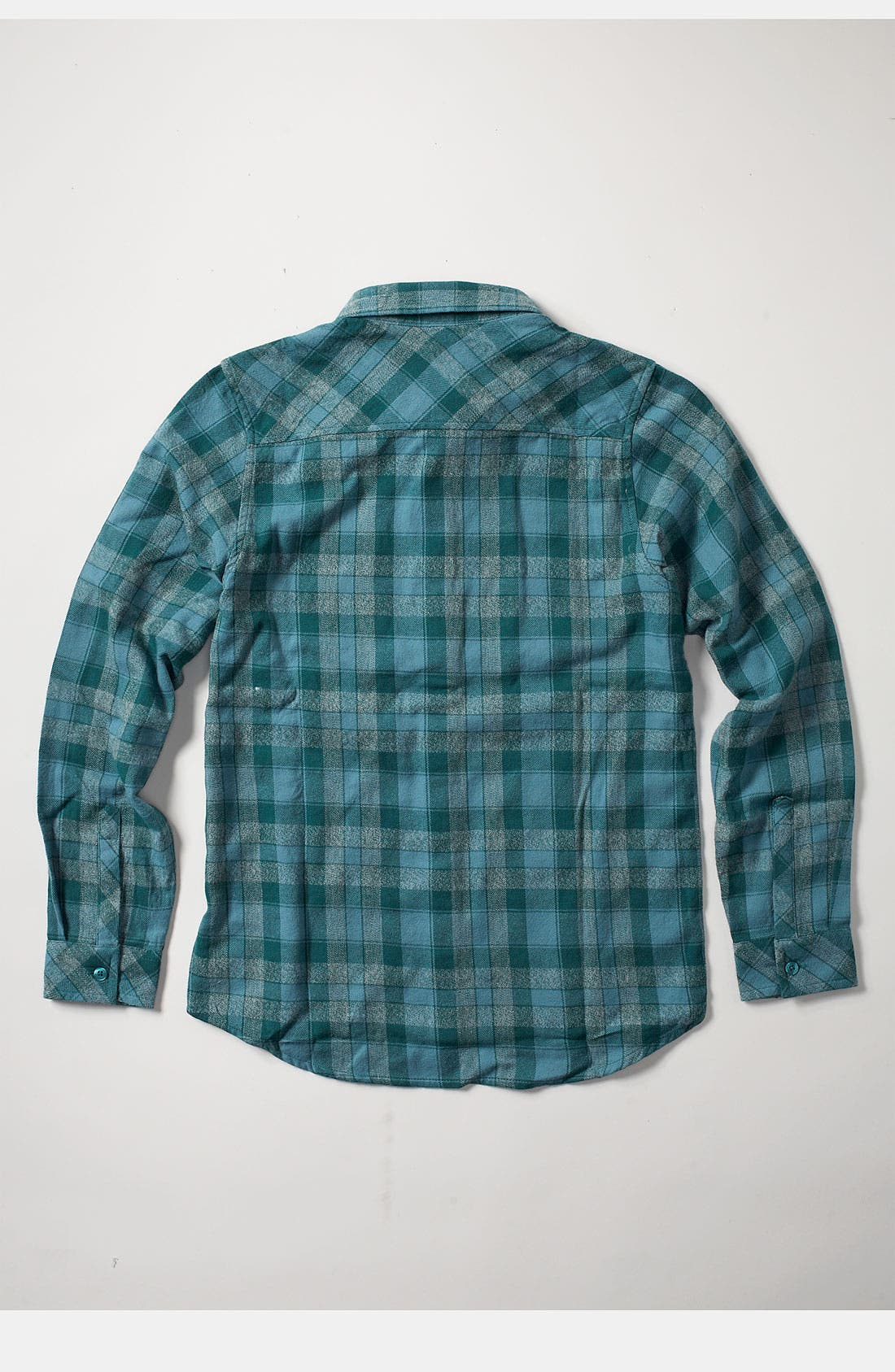 Alternate Image 2  - Quiksilver Flannel Shirt (Big Boys)