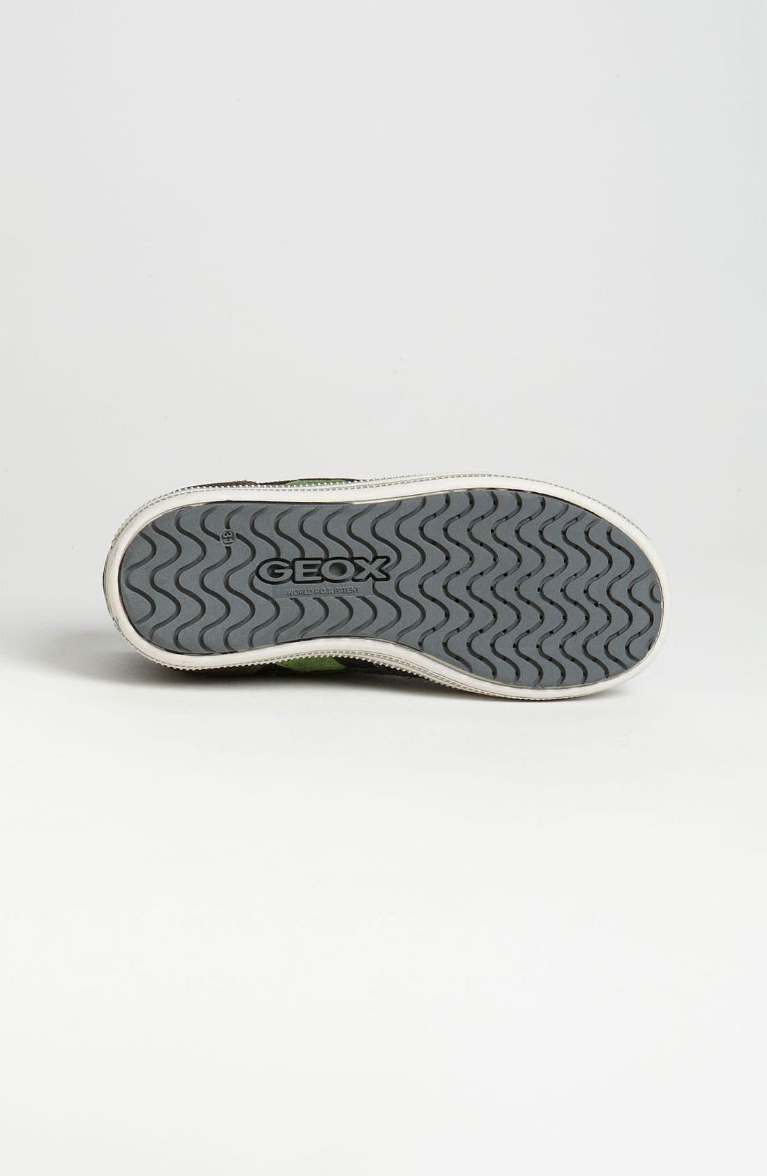 Alternate Image 4  - Geox Sneaker (Toddler, Little Kid & Big Kid)