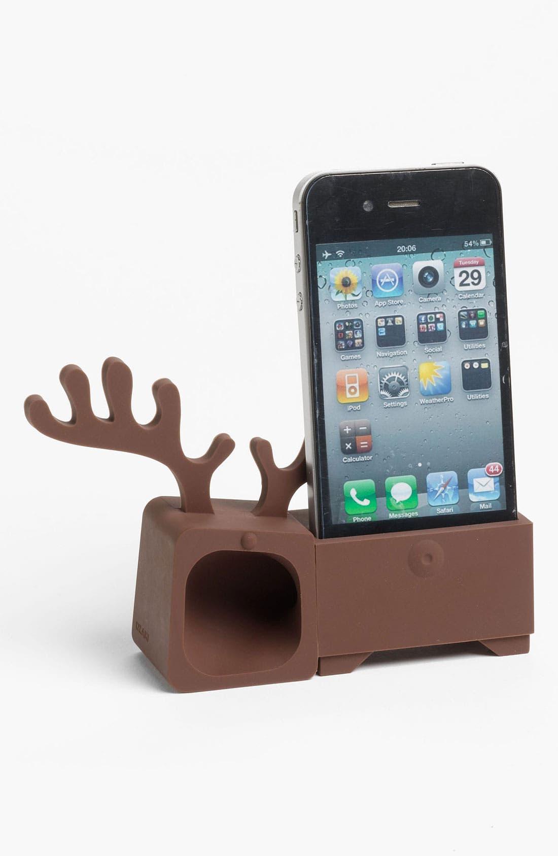 Alternate Image 1 Selected - Ozaki 'O! Music Zoo - Reindeer' iPhone 4 & 4S Amp