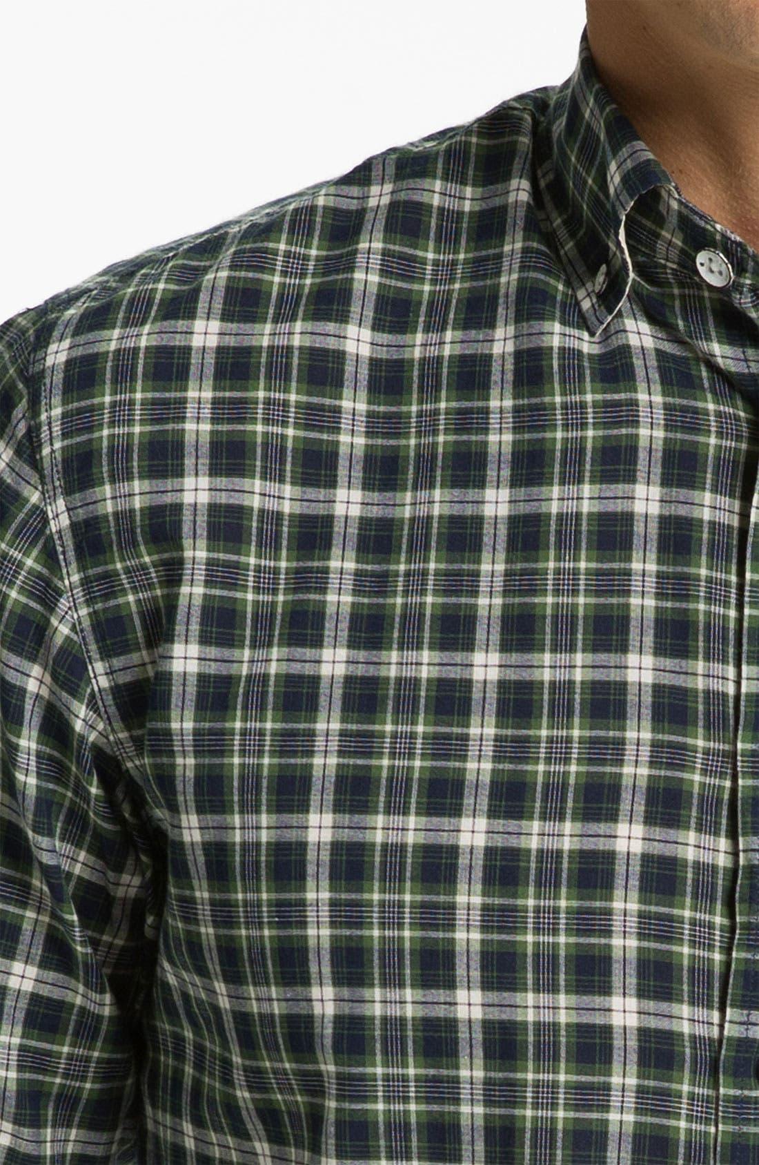 Alternate Image 3  - rag & bone Plaid Oxford Shirt