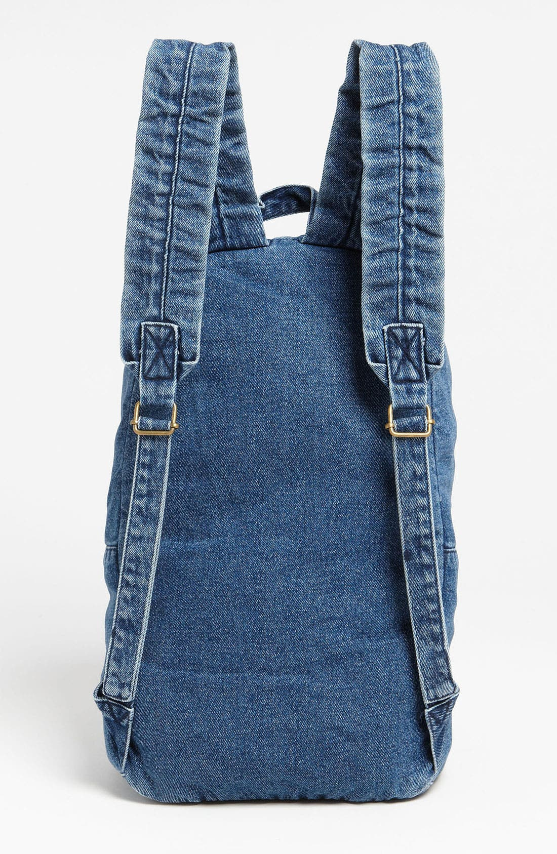 Alternate Image 3  - Topman Denim Backpack