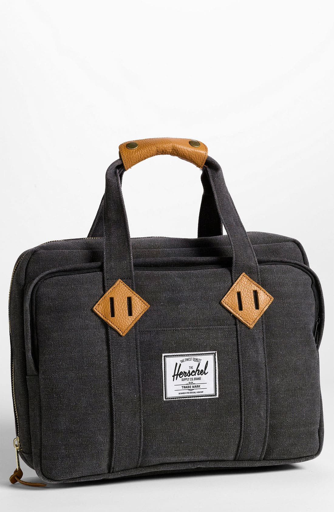 Alternate Image 1 Selected - Herschel Supply Co. 'Oak' Cotton Canvas Laptop Briefcase