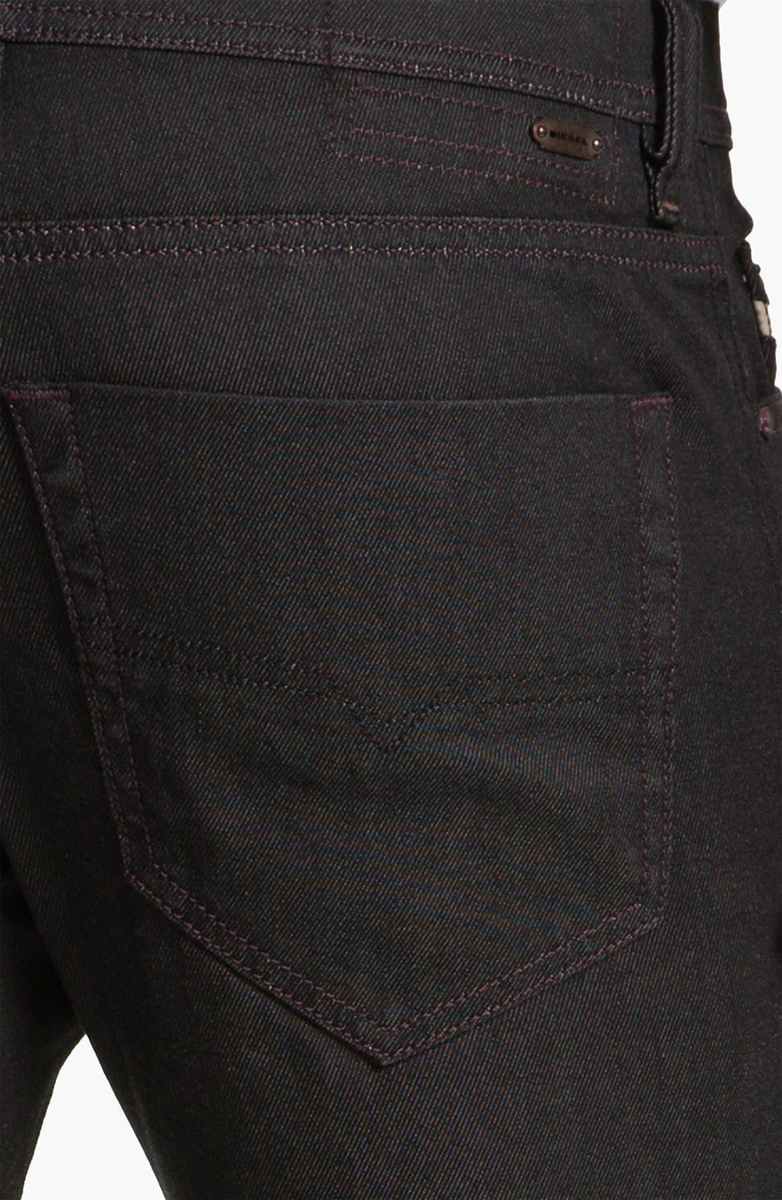 Alternate Image 4  - DIESEL® 'Tepphar' Slim Tapered Leg Jeans (0800W)